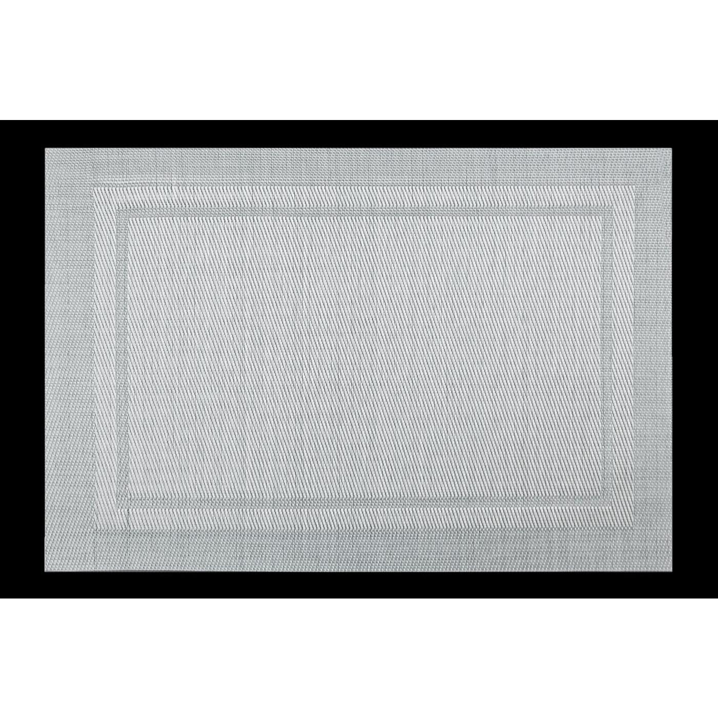 Srebrna podkładka stołowa klasyczna 30x45 cm