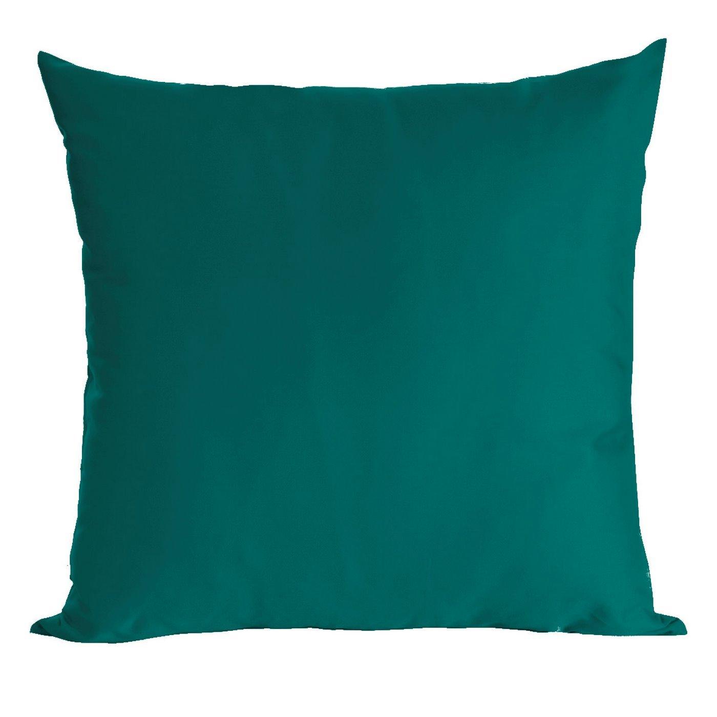 Poszewka dekoracyjna na poduszkę  70 x 80 Kolor Turkusowy