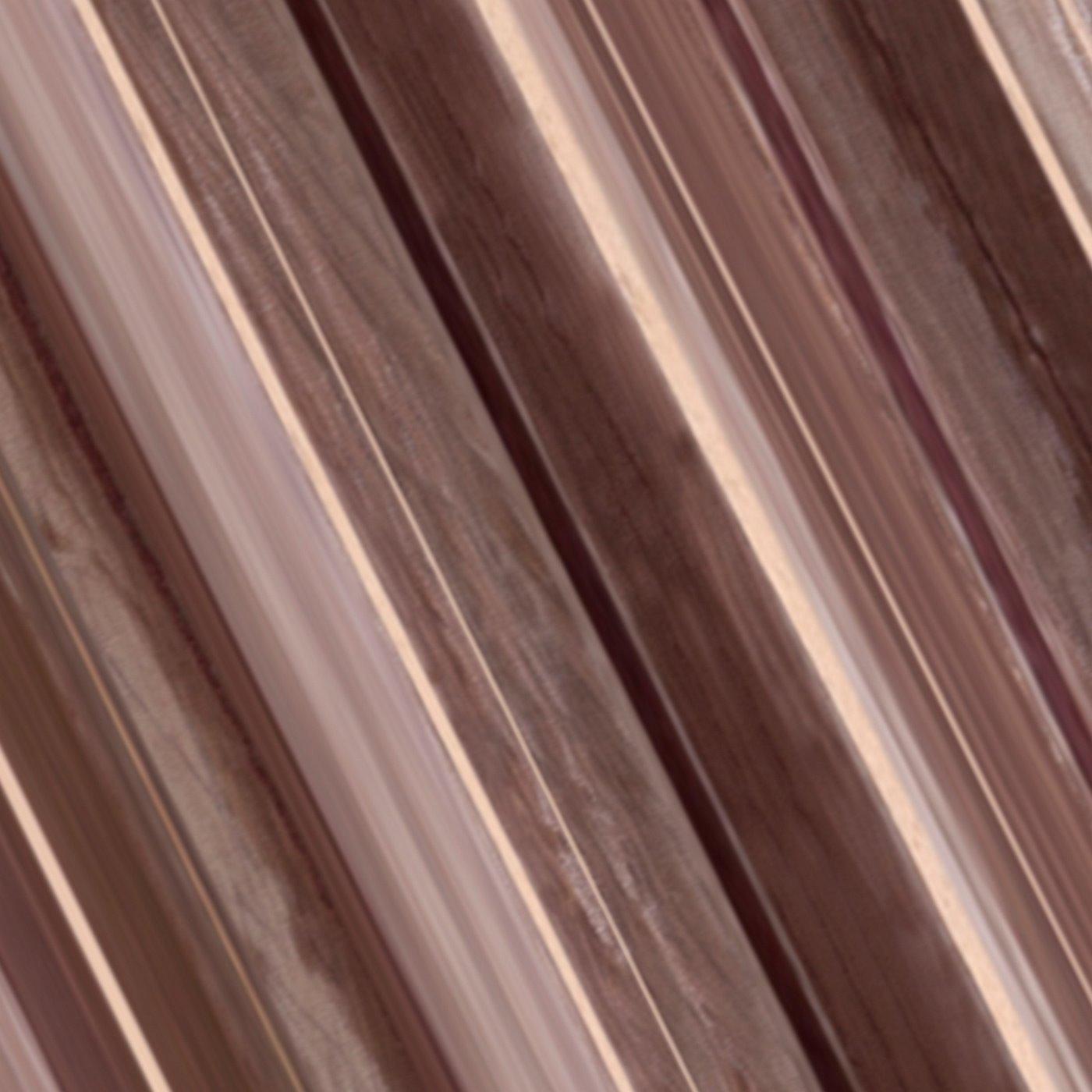 Oryginalna brązowa dwuwarstwowa zasłona na przelotkach