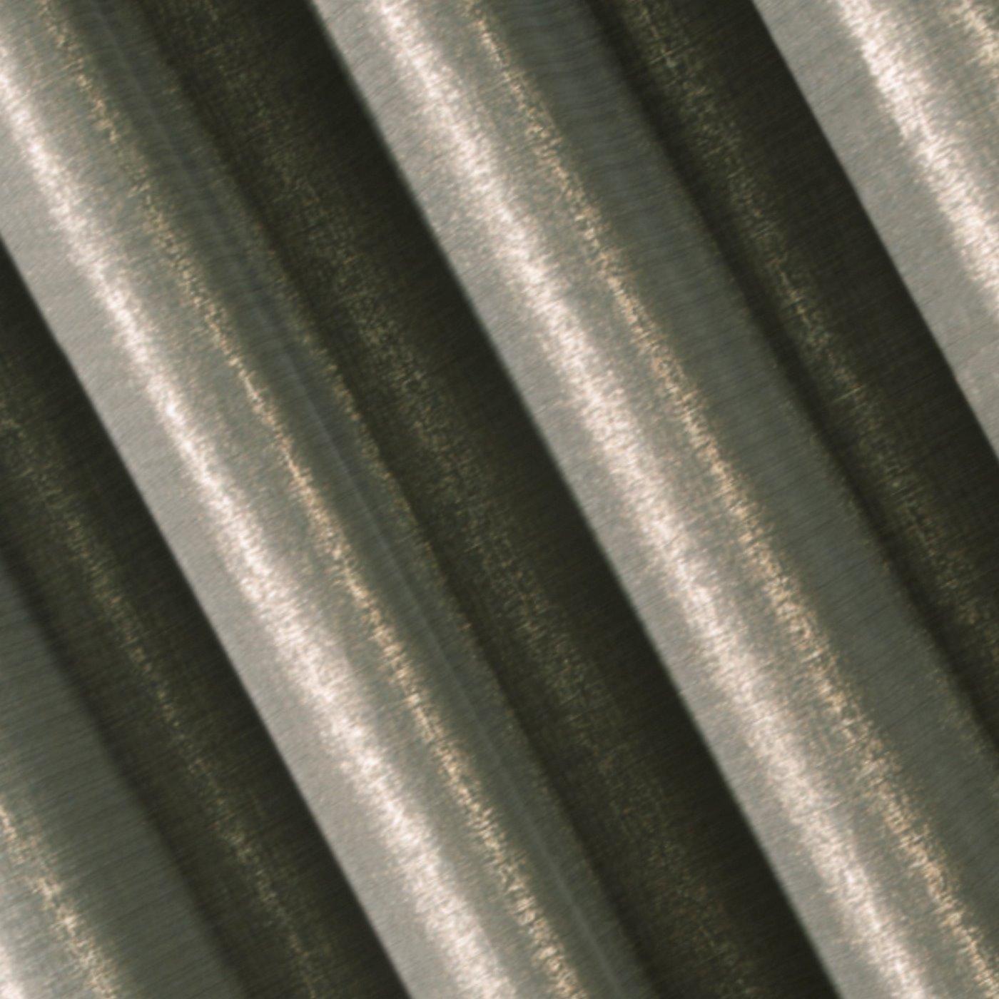 Zasłona ze złotym melanżowym nadrukiem 140x250 cm