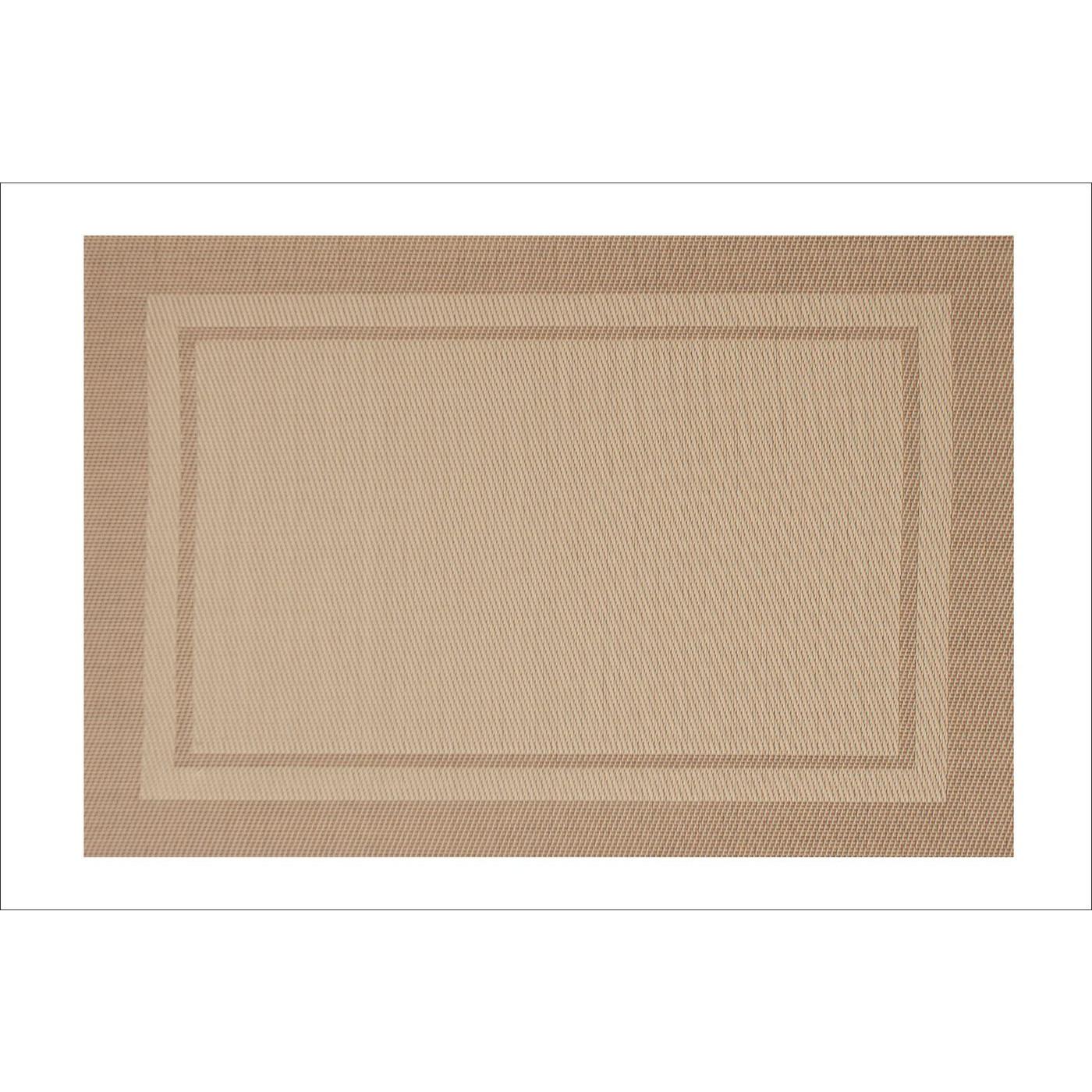 Beżowa podkładka stołowa klasyczna 30x45 cm