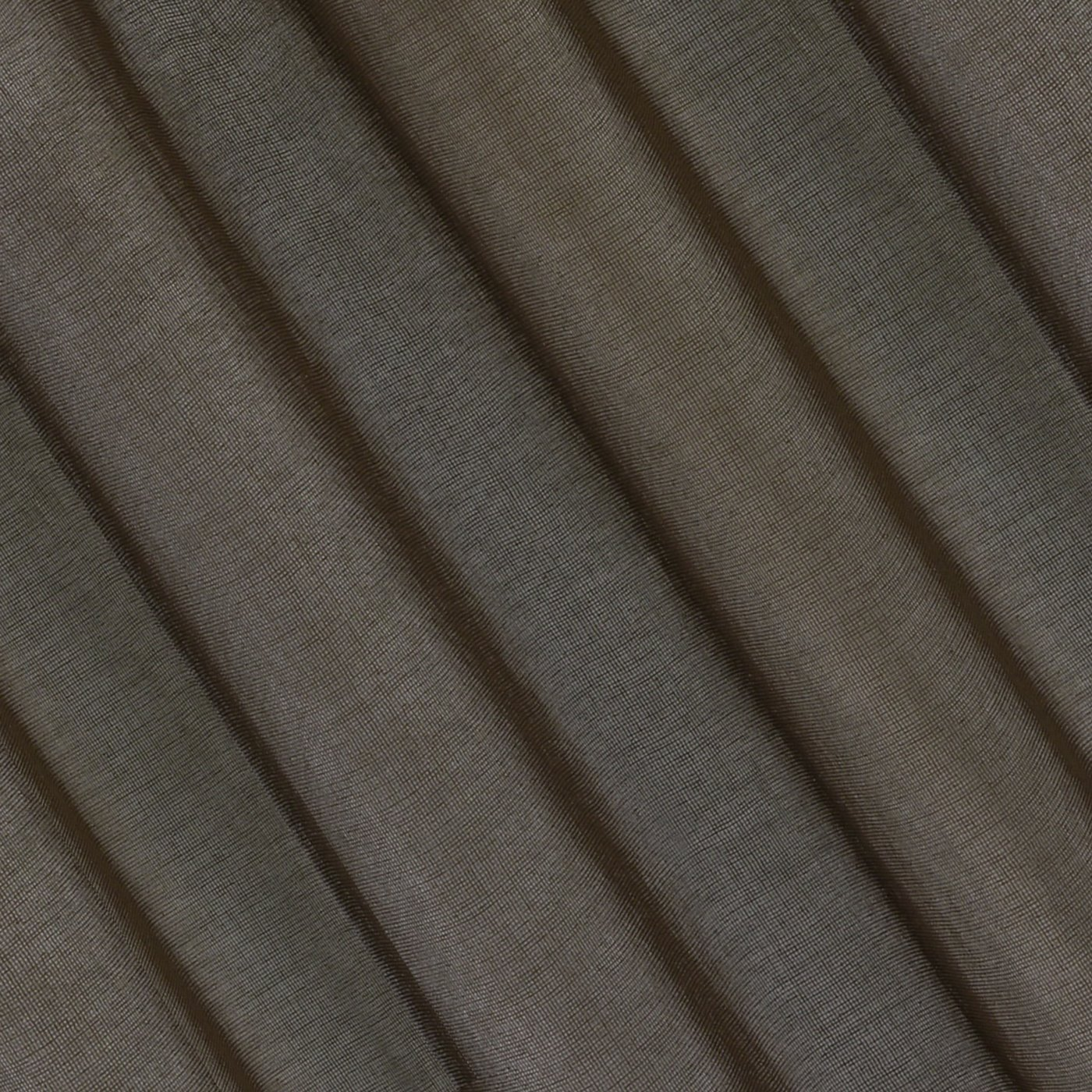 Półprzejrzysta czekoladowa firana na przelotkach 140x250
