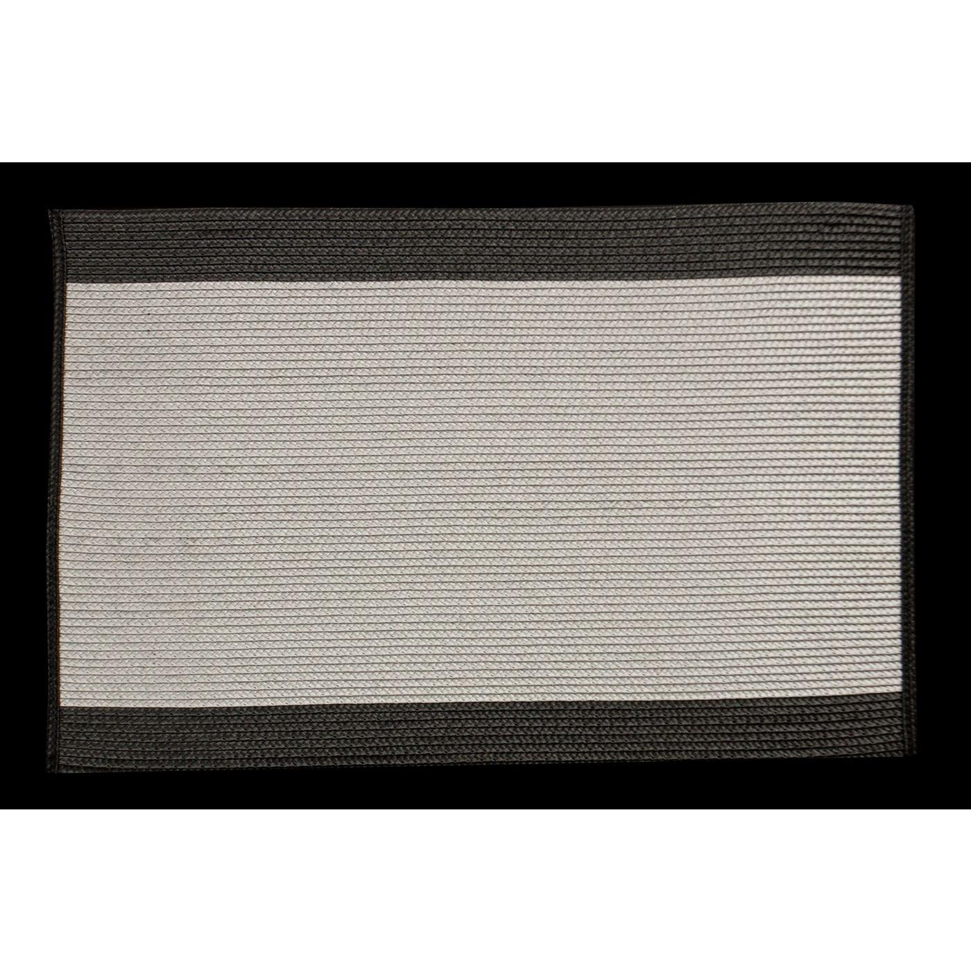 Dwukolorowa podkładka stołowa z lamówką 30x45 cm