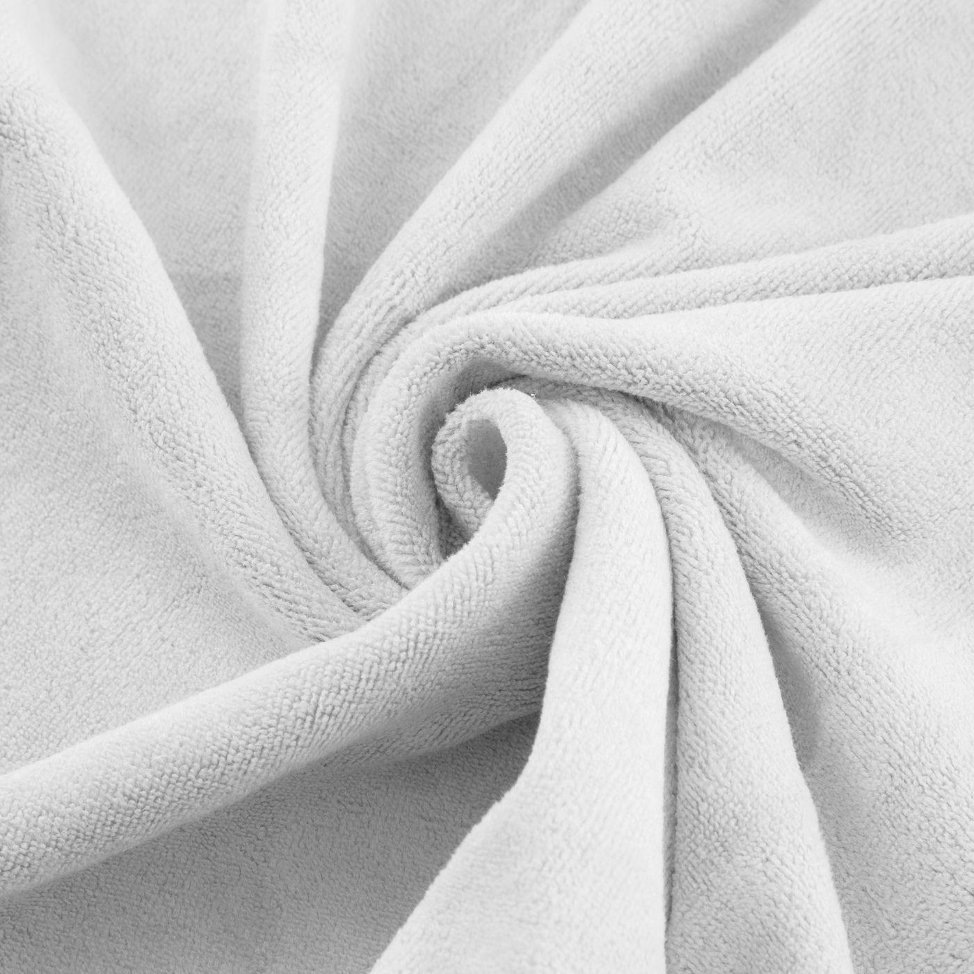 Ręcznik z mikrofibry szybkoschnący biały 30x30cm