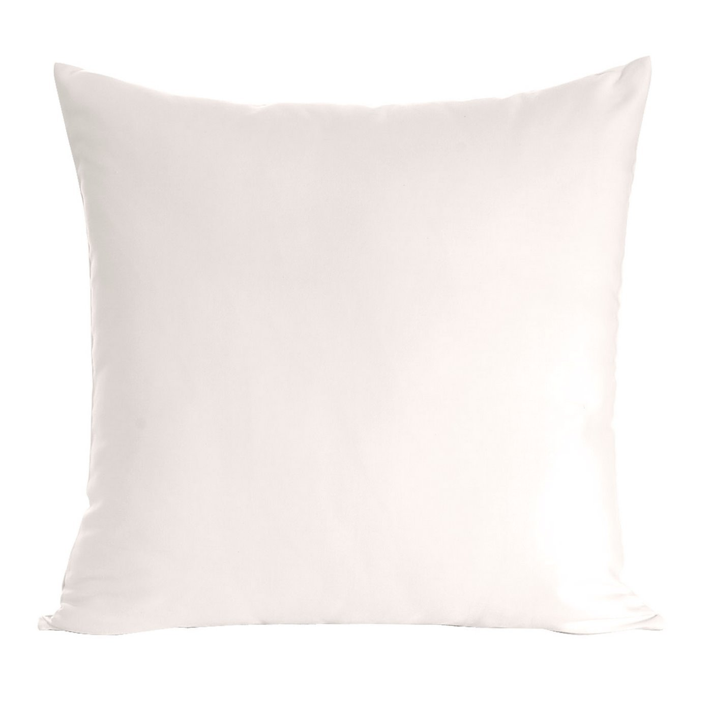 Poszewka na poduszkę biała gładka 40 x 40 cm