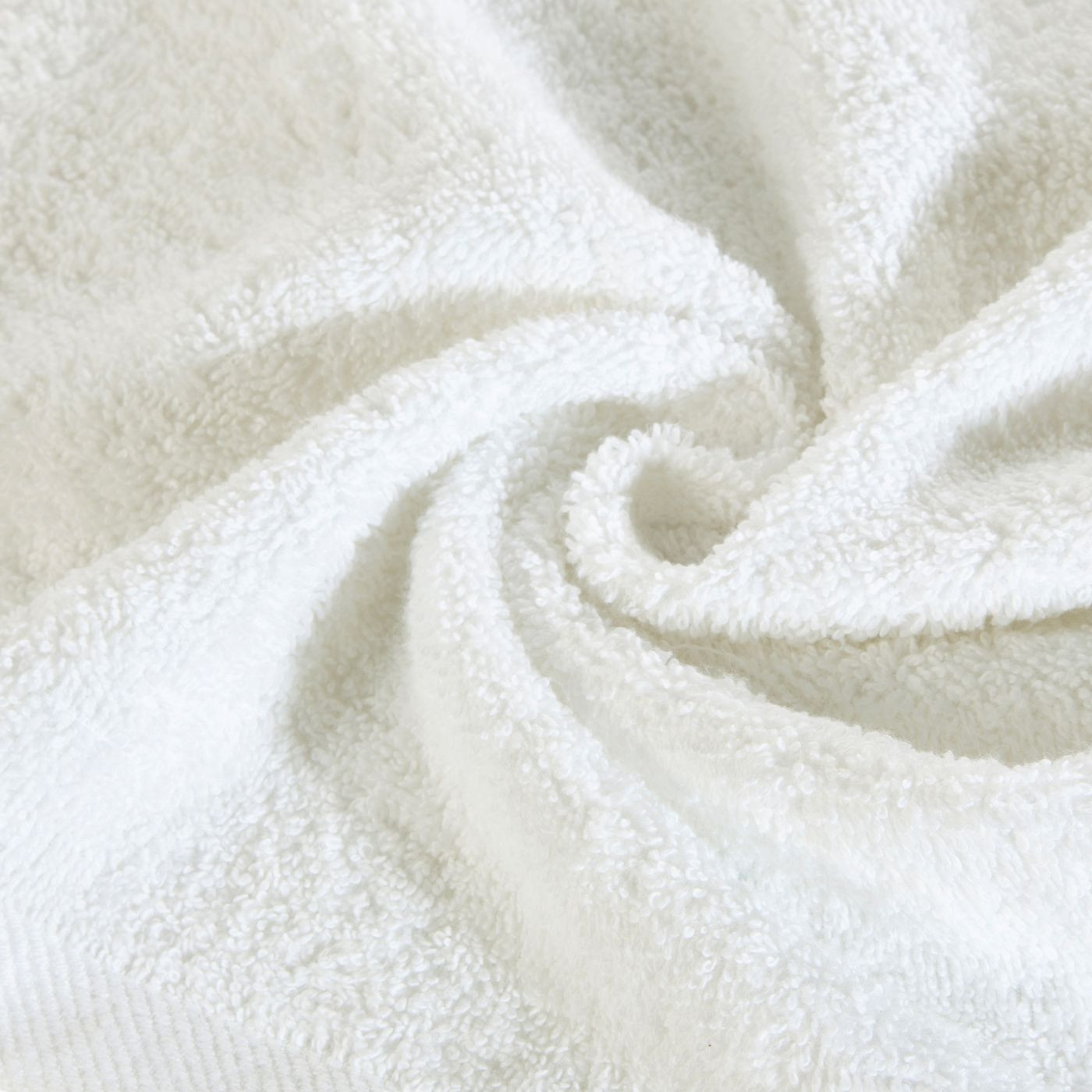 Ręcznik bawełniany gładki biały 50x90cm