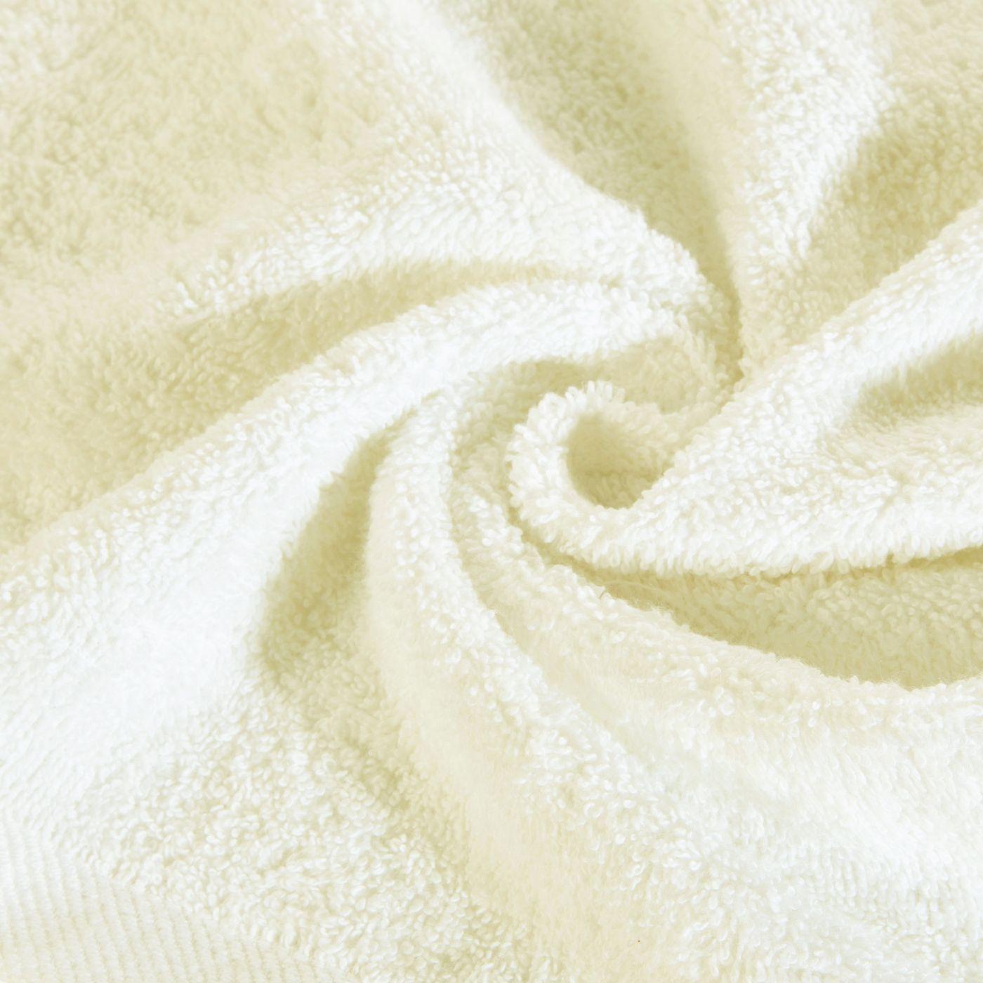 Ręcznik bawełniany gładki kremowy 70x140 cm