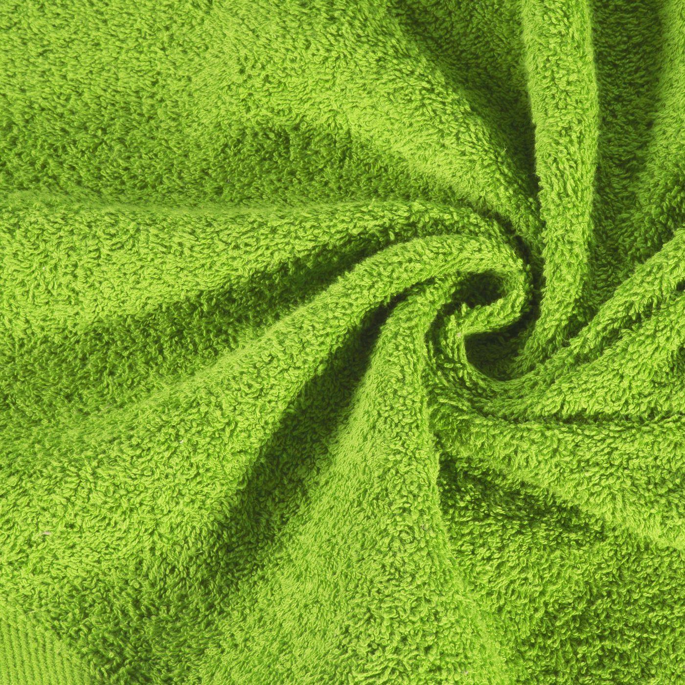 Ręcznik bawełniany gładki zielony 50x90 cm