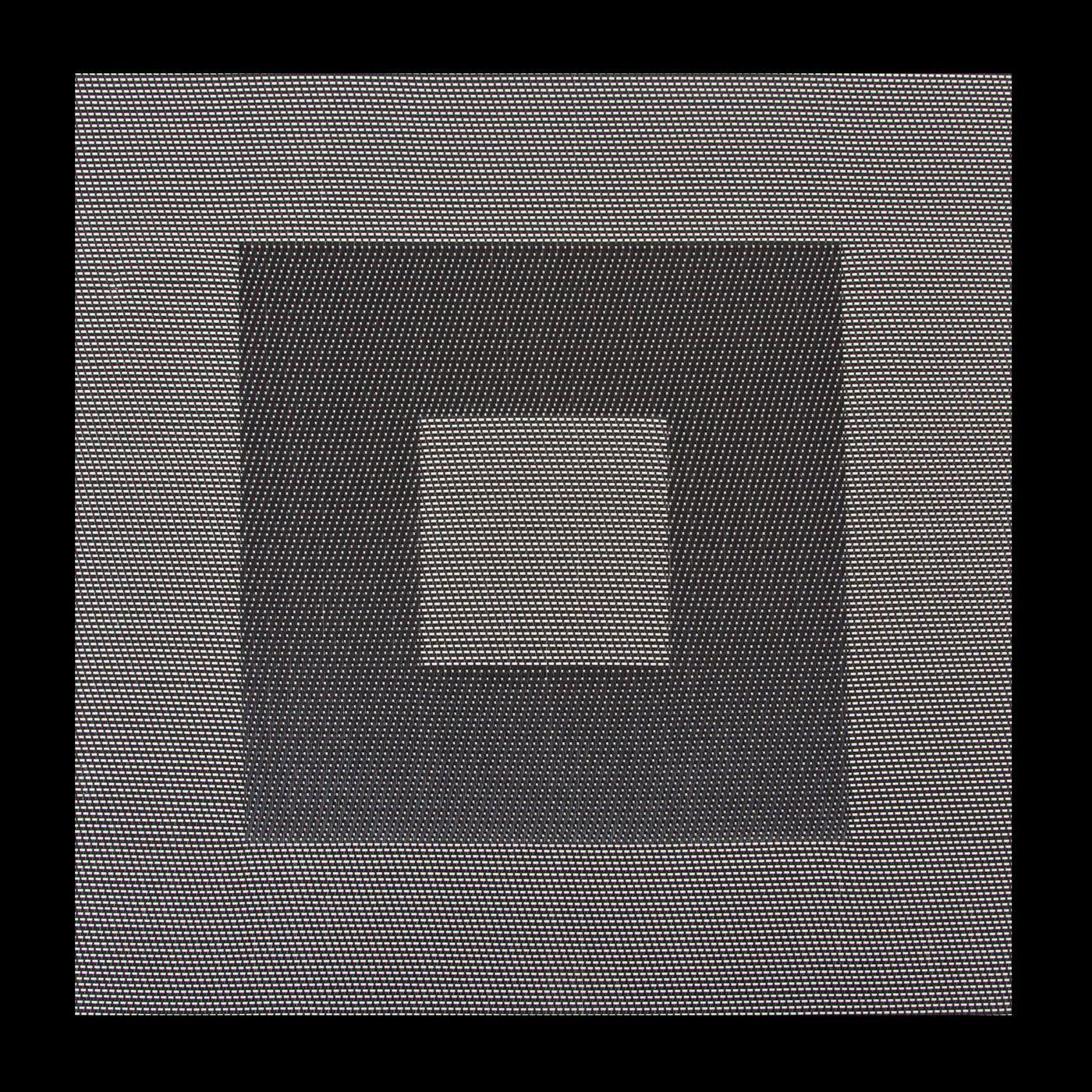 Kwadratowa podkładka stołowa czarna 35x35 cm