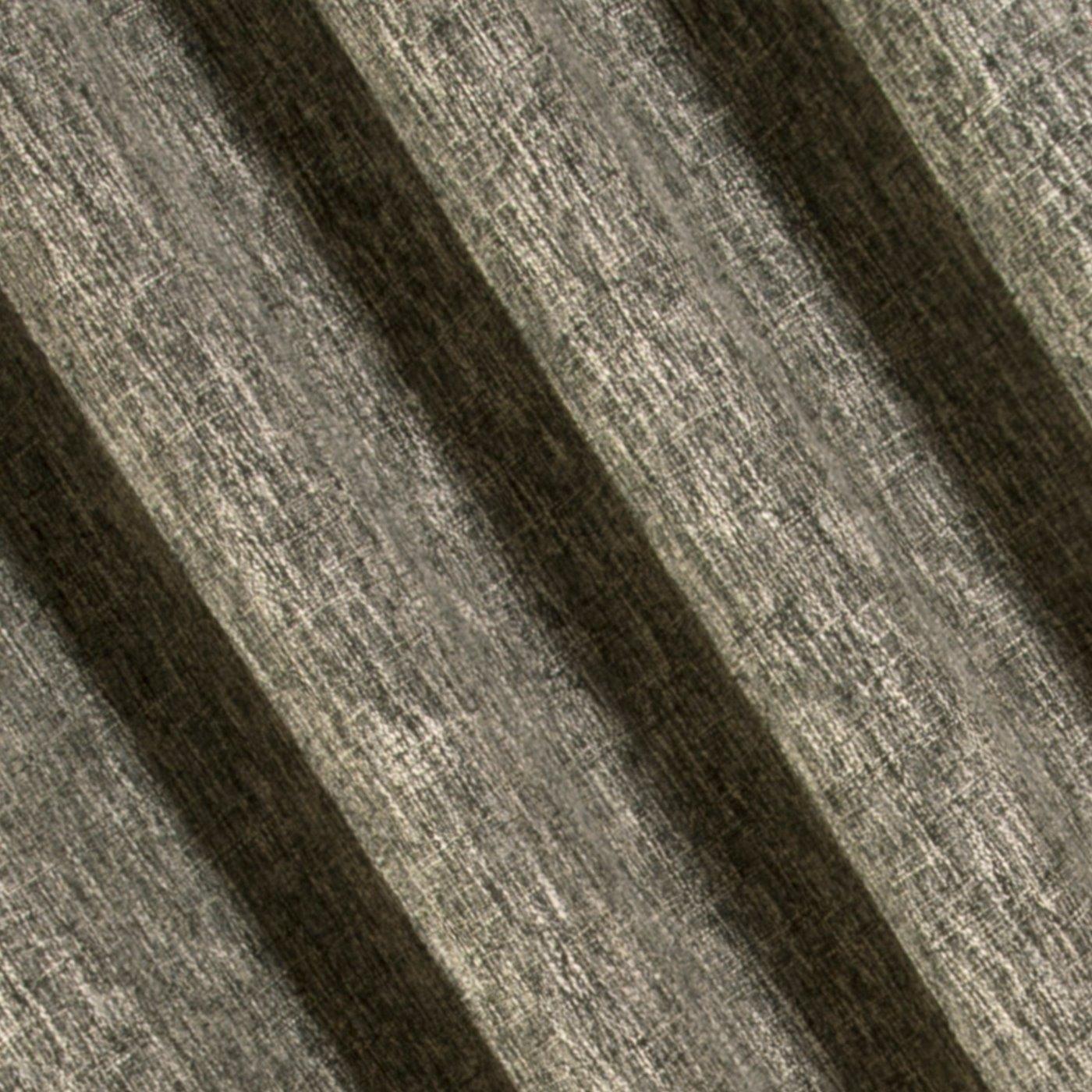 Oryginalna zasłona z melanżu na przelotkach 140x250 cm krem i czerń