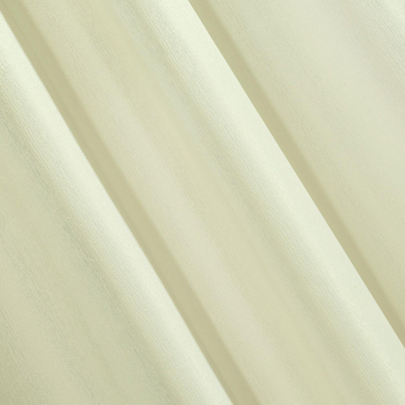 Zasłona subtelny marmurkowy wzór kremowy 140x250cm