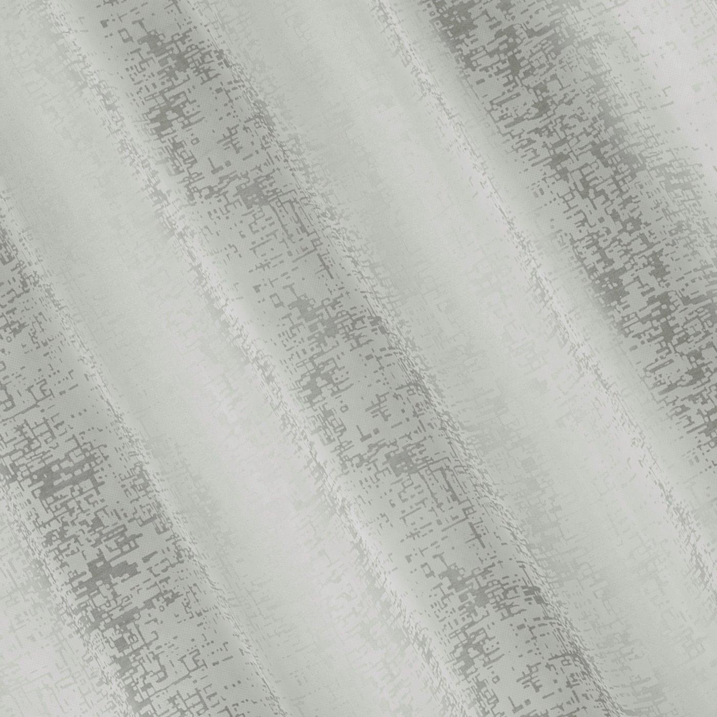 Zasłona z marmurkowym wzorem beżowy przelotki 140x250cm