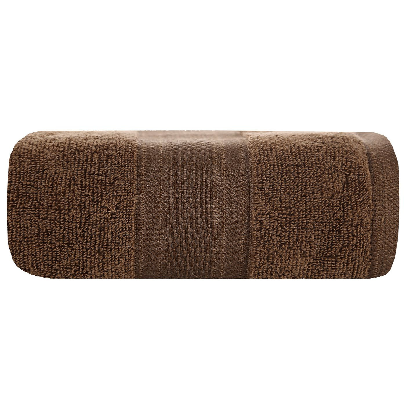 Ręcznik szybkoschnący klasyczny fason brązowy 50x90 cm