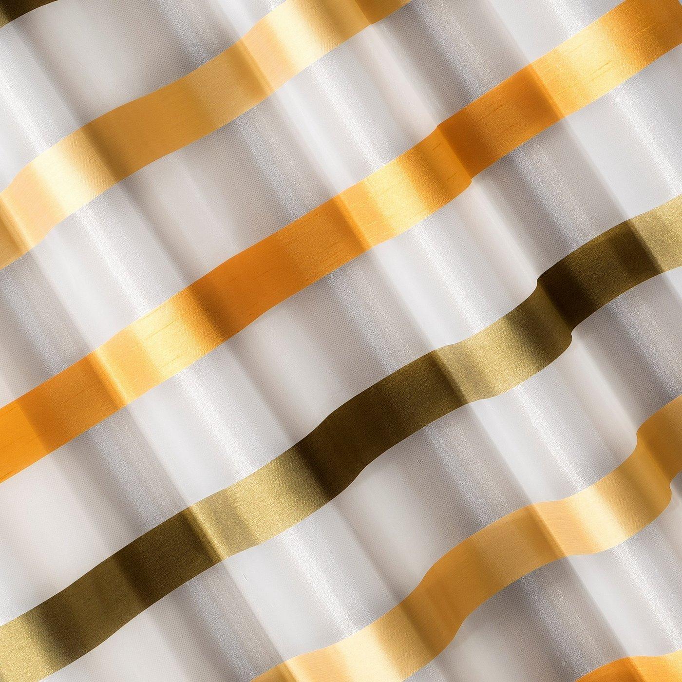 Zasłona półprzejrzysta na przelotkach 140x250 cm