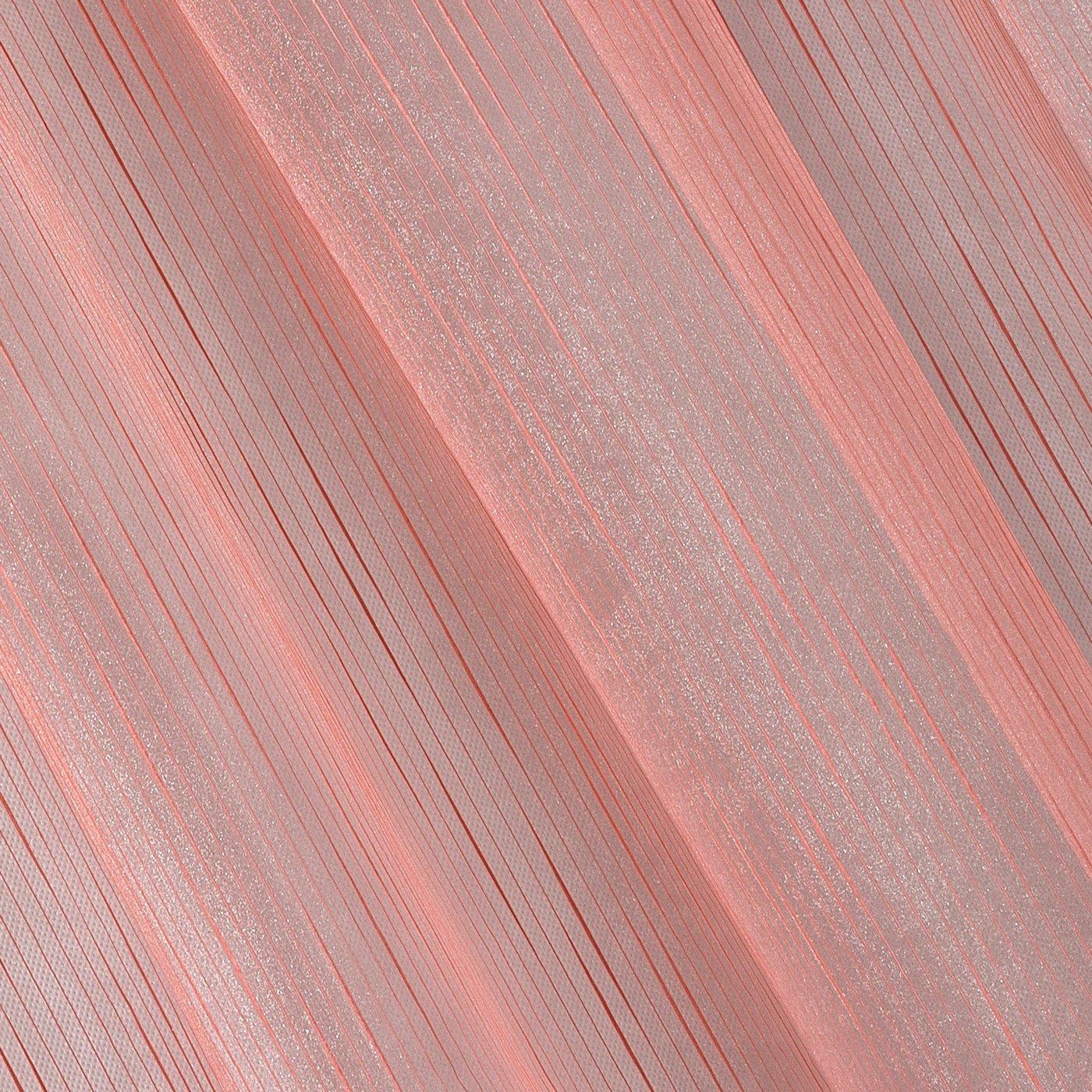 Subtelna zasłona do salonu gładka malinowa na taśmie 140x250cm
