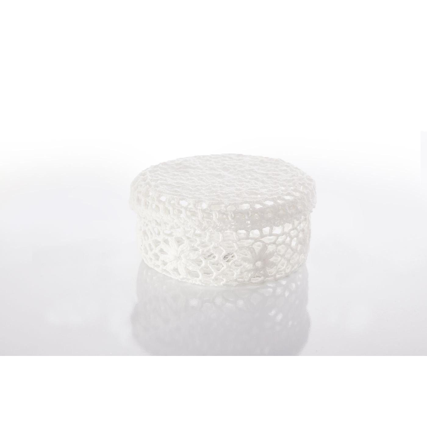 Koszyczek koronkowy 12 x 8 cm 100% bawełna