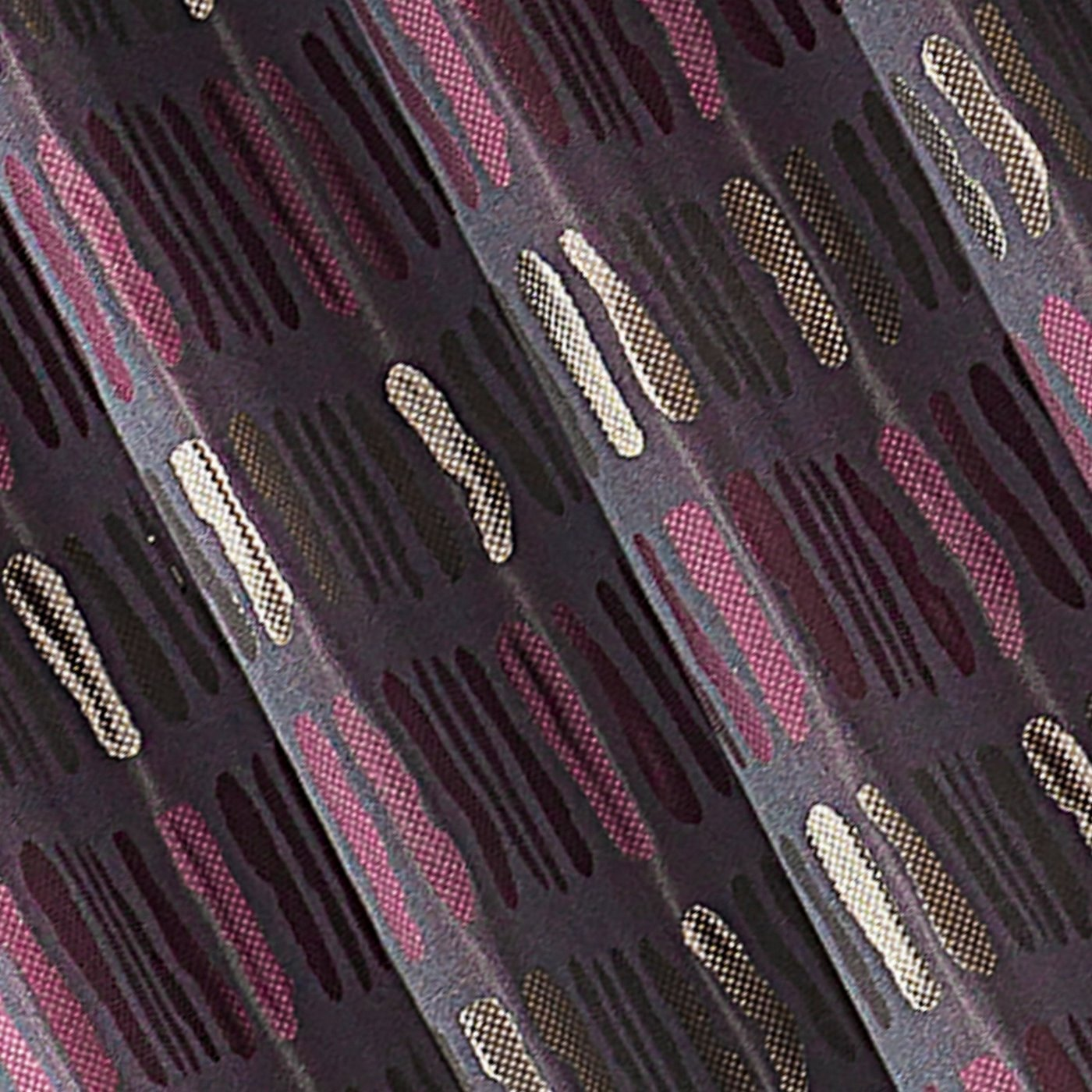 Oryginalne zasłony z aplikacją fioletowe na przelotkach 140x250 cm