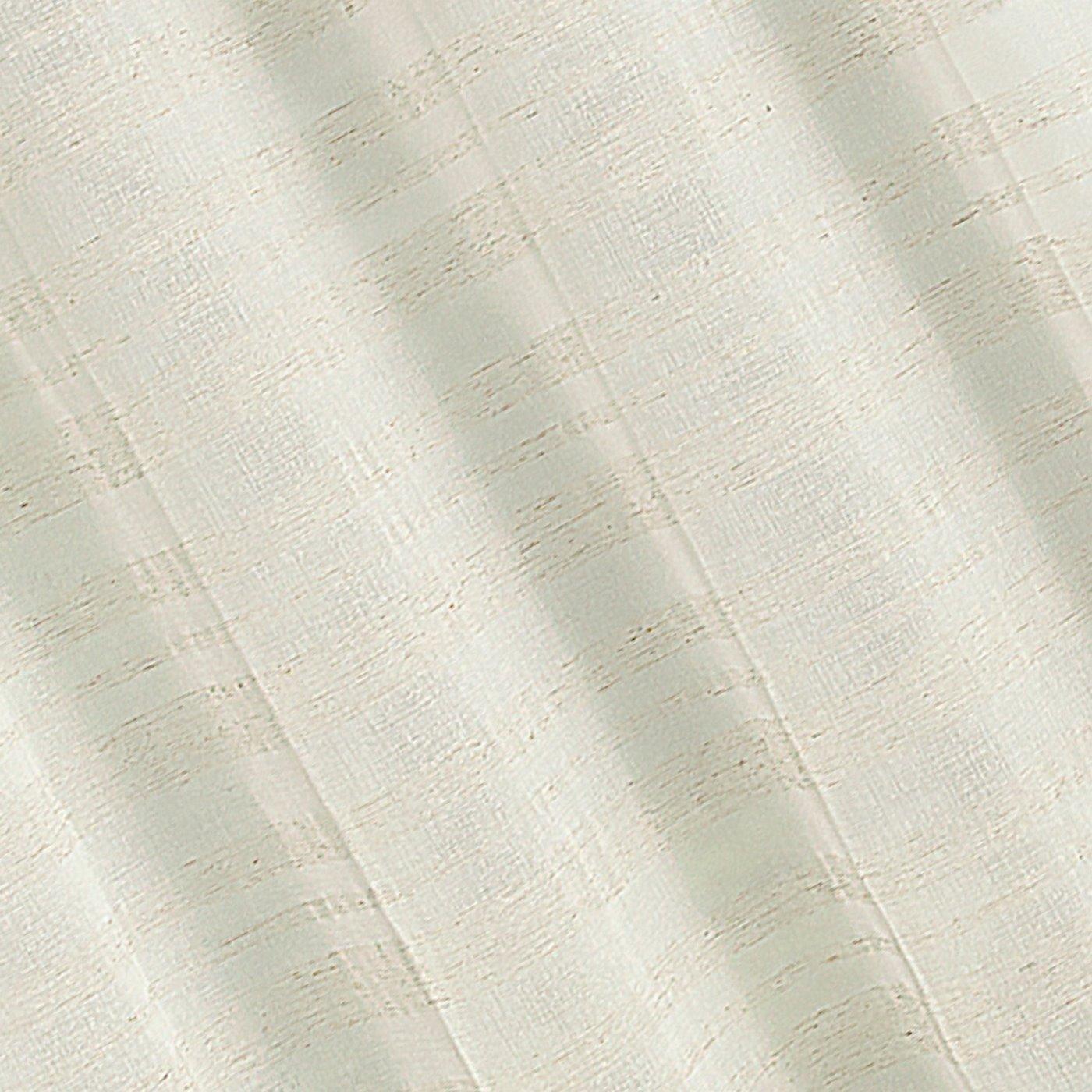 Zasłona w stylu eco subtelne pasy przelotki 140x250cm