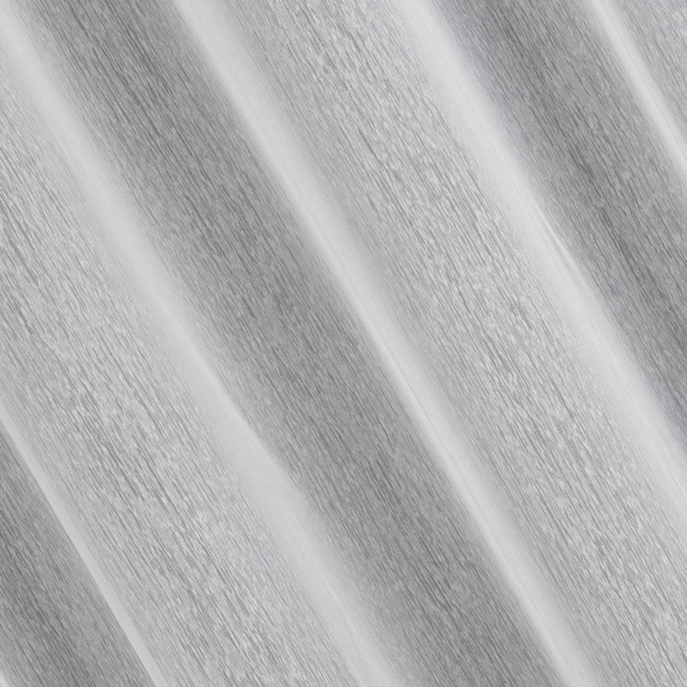 Biała FIRANA o STRUKTURZE DESZCZYKU przelotki 140x250 cm