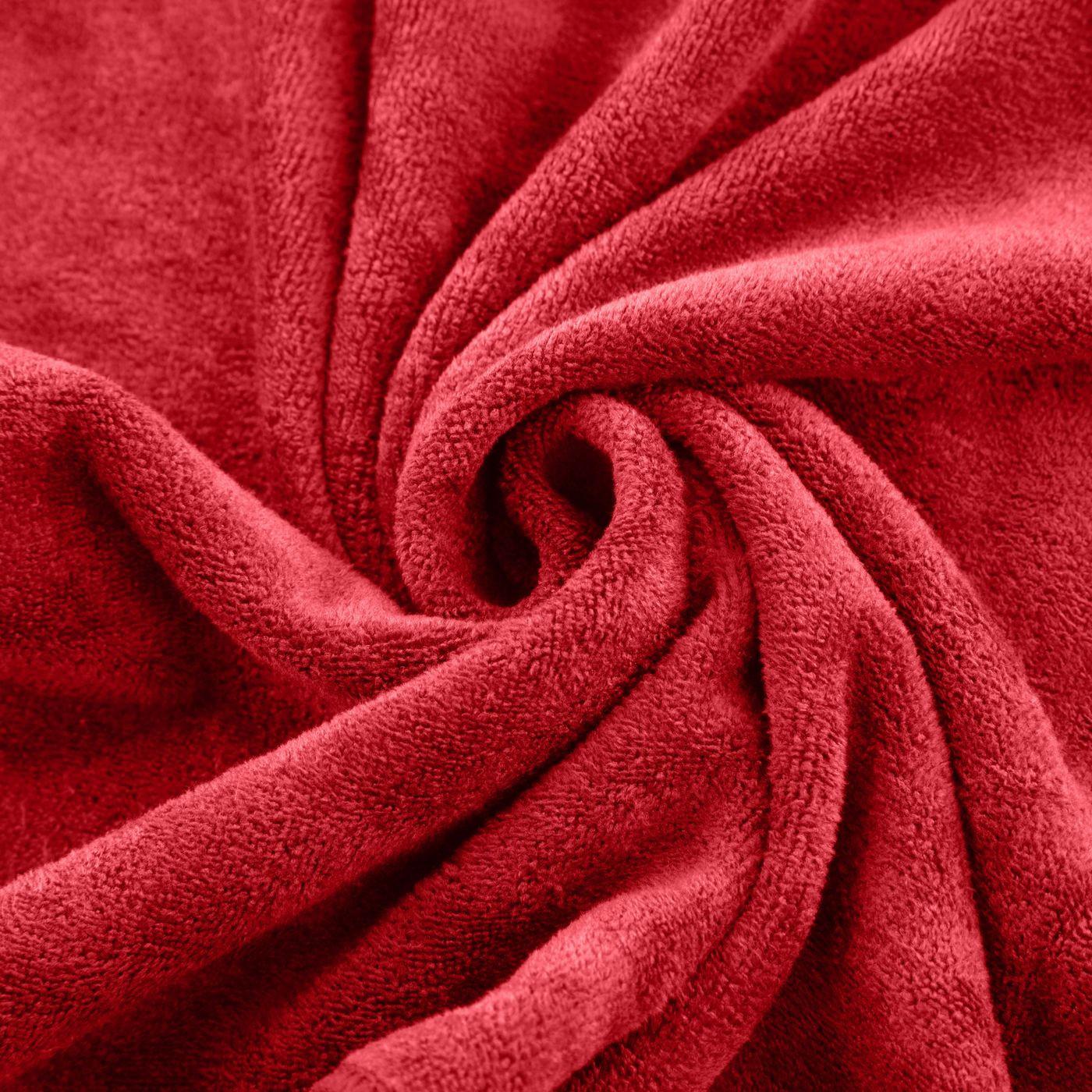 Ręcznik z mikrofibry szybkoschnący czerwony 50x90cm