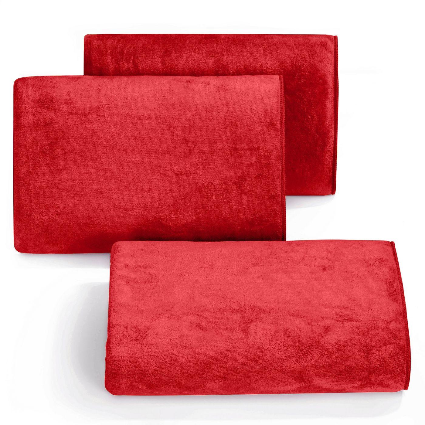 Ręcznik z mikrofibry szybkoschnący czerwony 70x140cm