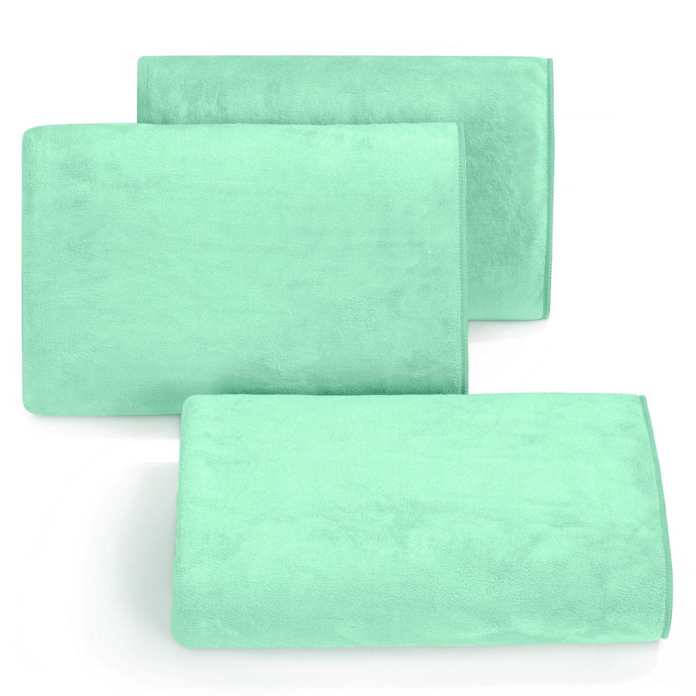 Ręcznik z mikrofibry szybkoschnący jasnoturkusowy 50x90cm