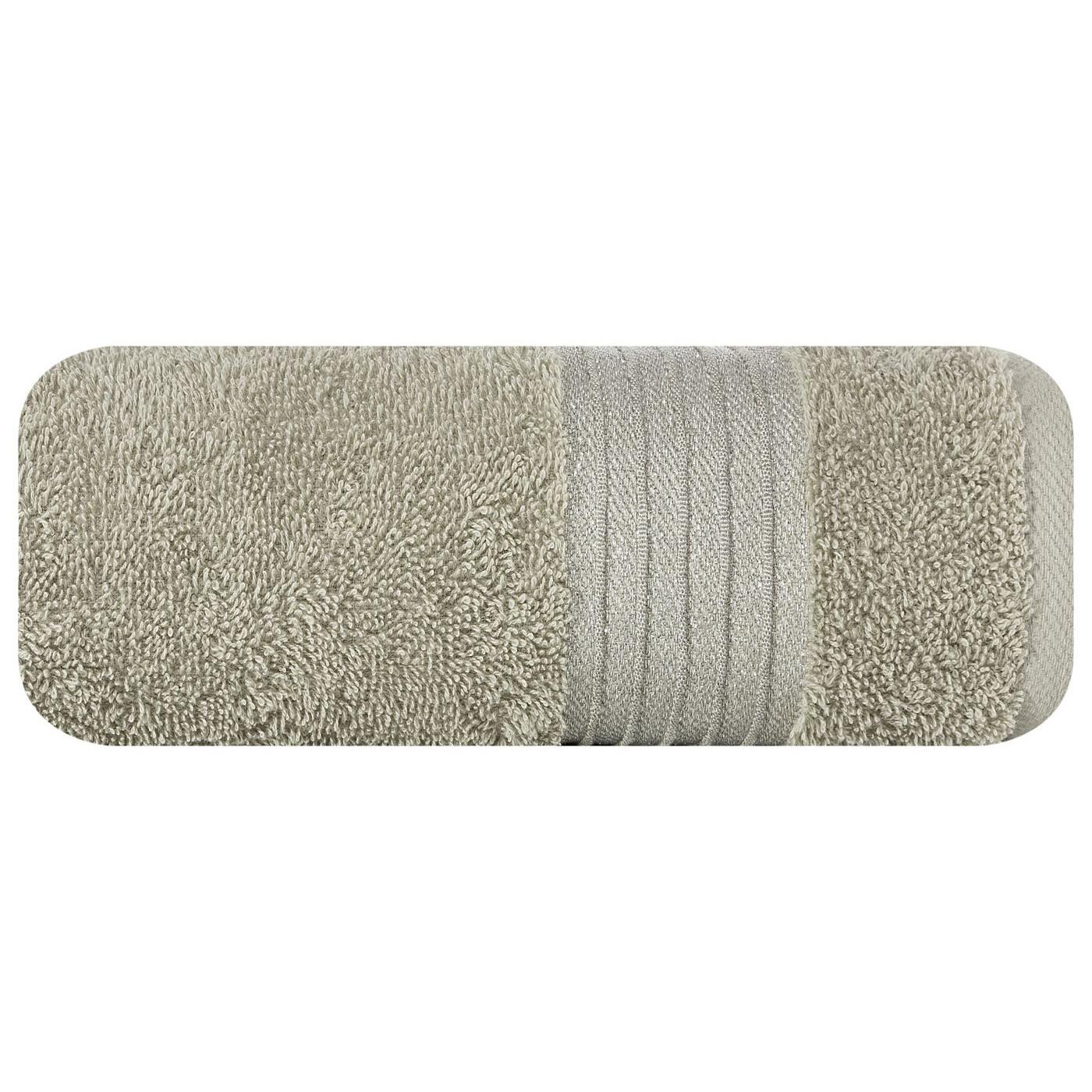 Klasyczny ręcznik kąpielowy beżowy 70x140 cm