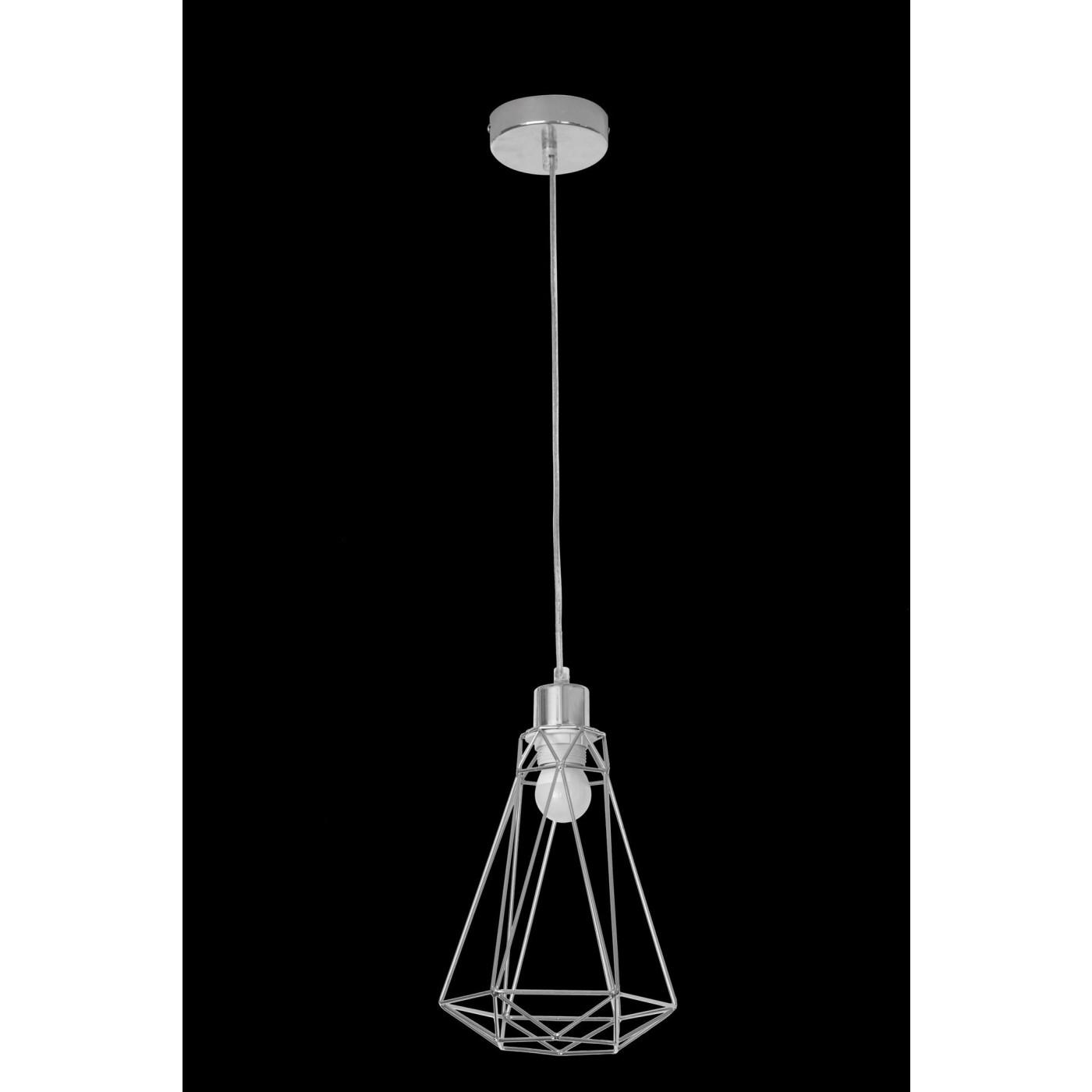 Lampa metalowa loftowa czarno-złota styl industrialny