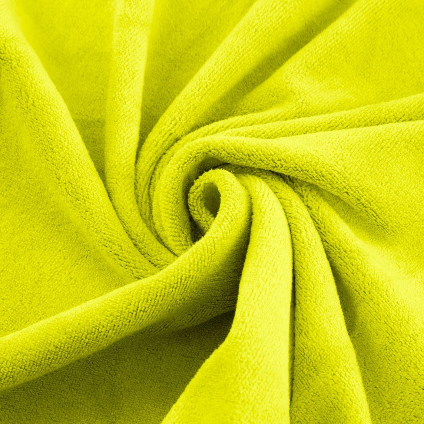 Ręcznik z mikrofibry szybkoschnący limonkowy 30x30cm