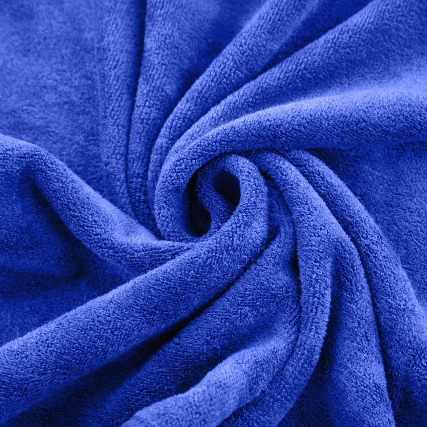 Ręcznik z mikrofibry szybkoschnący granatowy 50x90cm