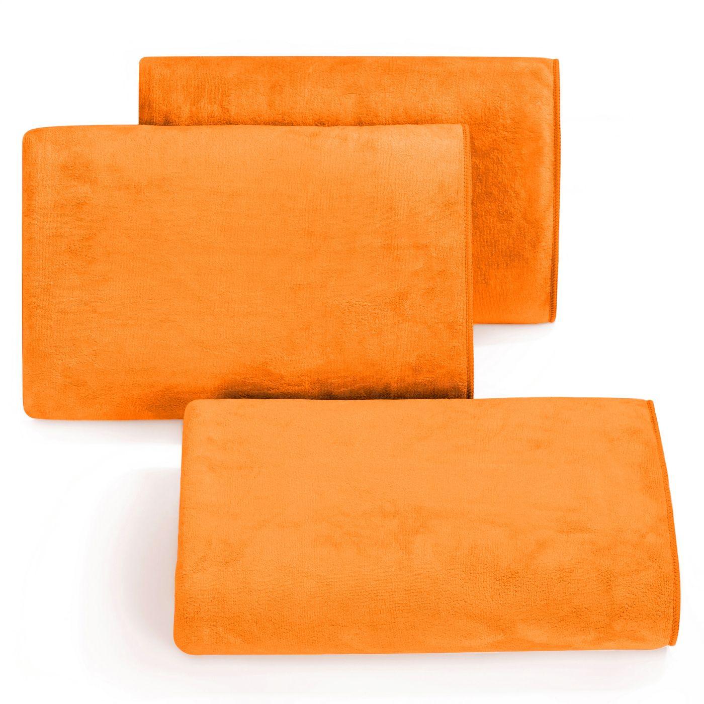 Ręcznik z mikrofibry szybkoschnący pomarańczowy 70x140cm