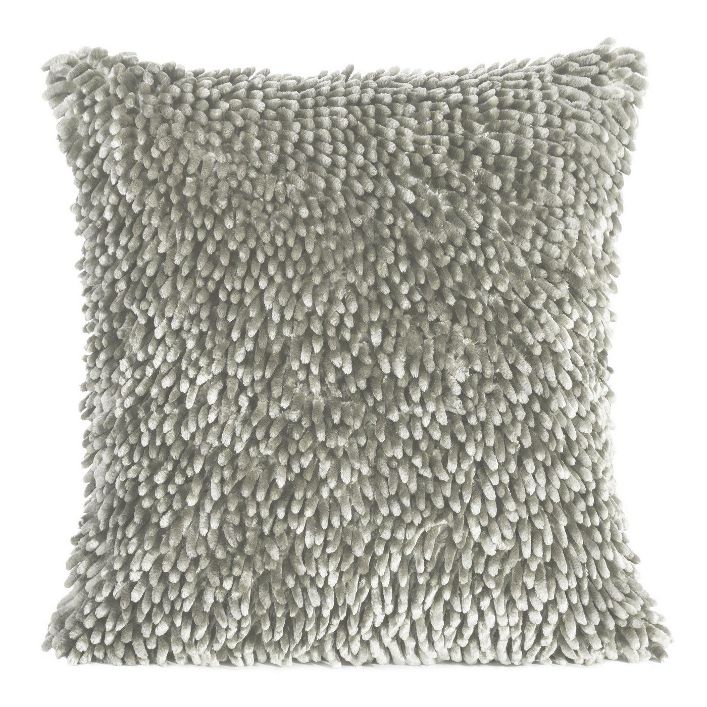 Poszewka dekoracyjna na poduszkę  50 x 50 Kolor Srebrny