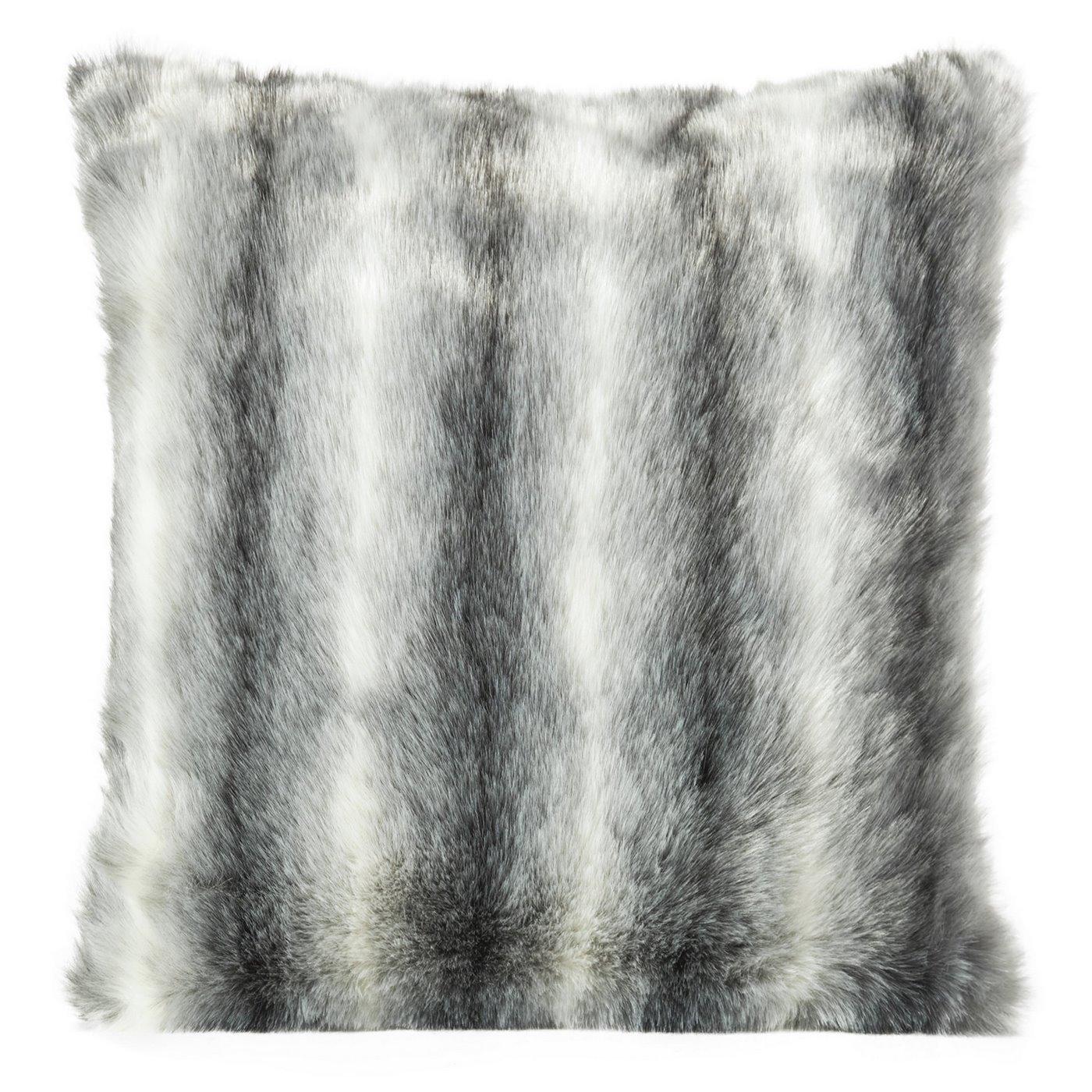Poszewka dekoracyjna na poduszkę 45 x 45 kolor stalowy