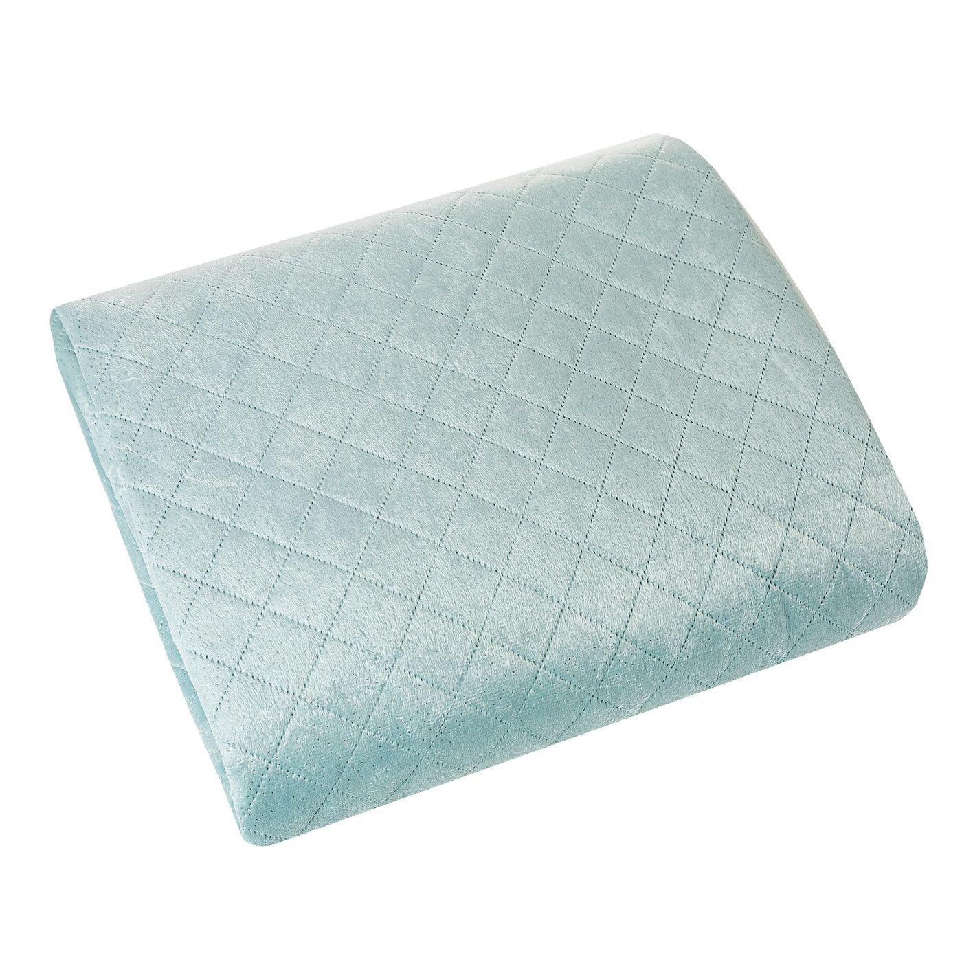 Narzuta na łóżko dwustronna pikowana hotpress 200x220 cm