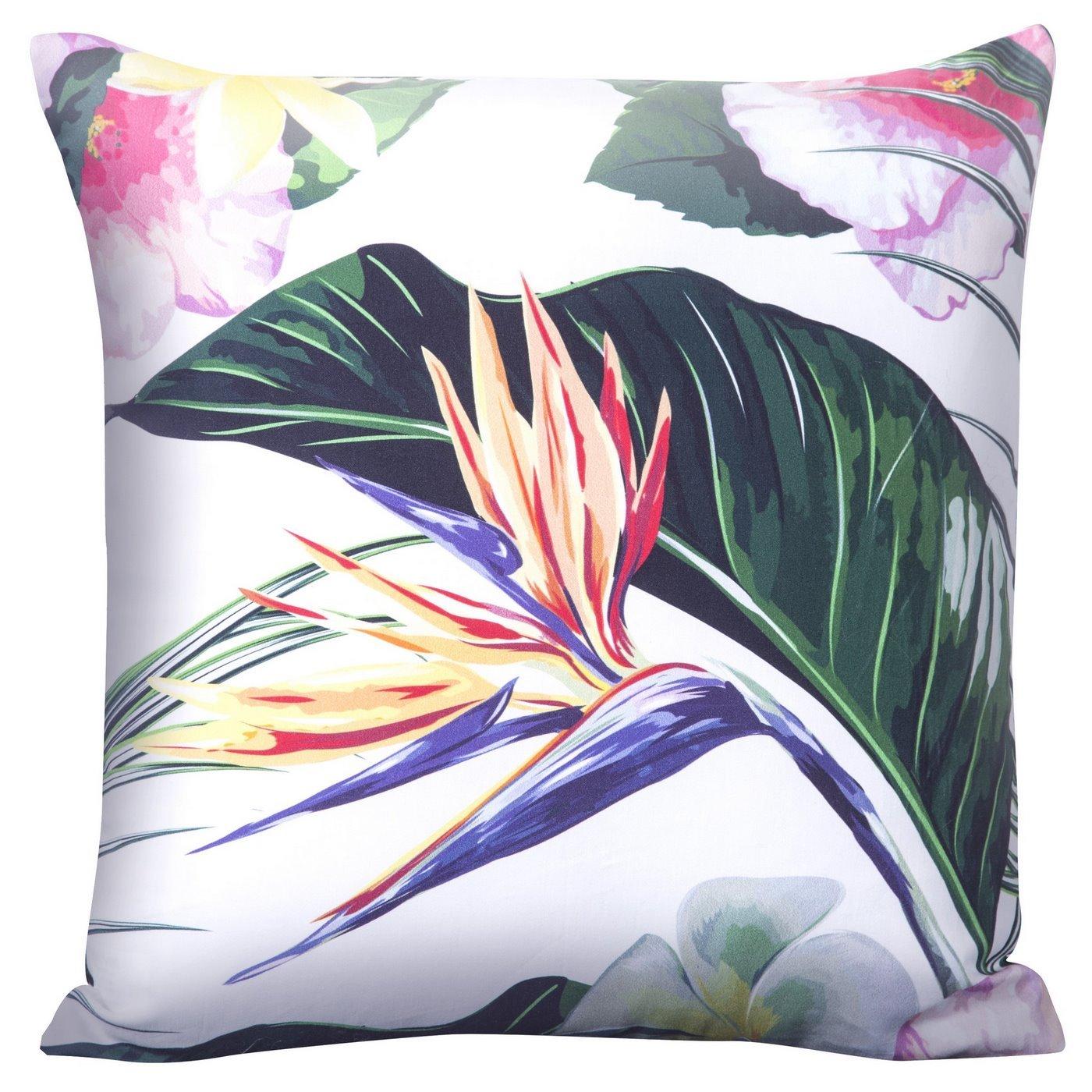 Poszewka na poduszkę kolorowy liść 40 x 40 cm