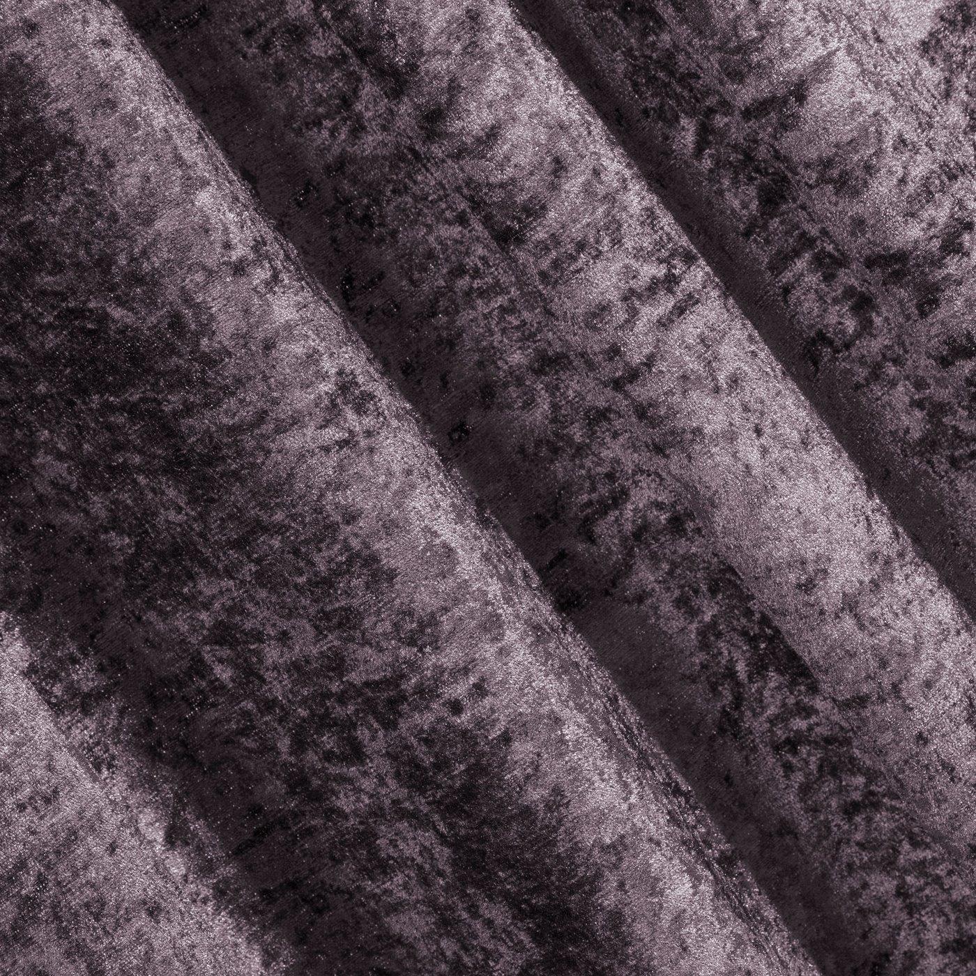 Zasłona welwetowa fioletowa 140x270 cm taśma