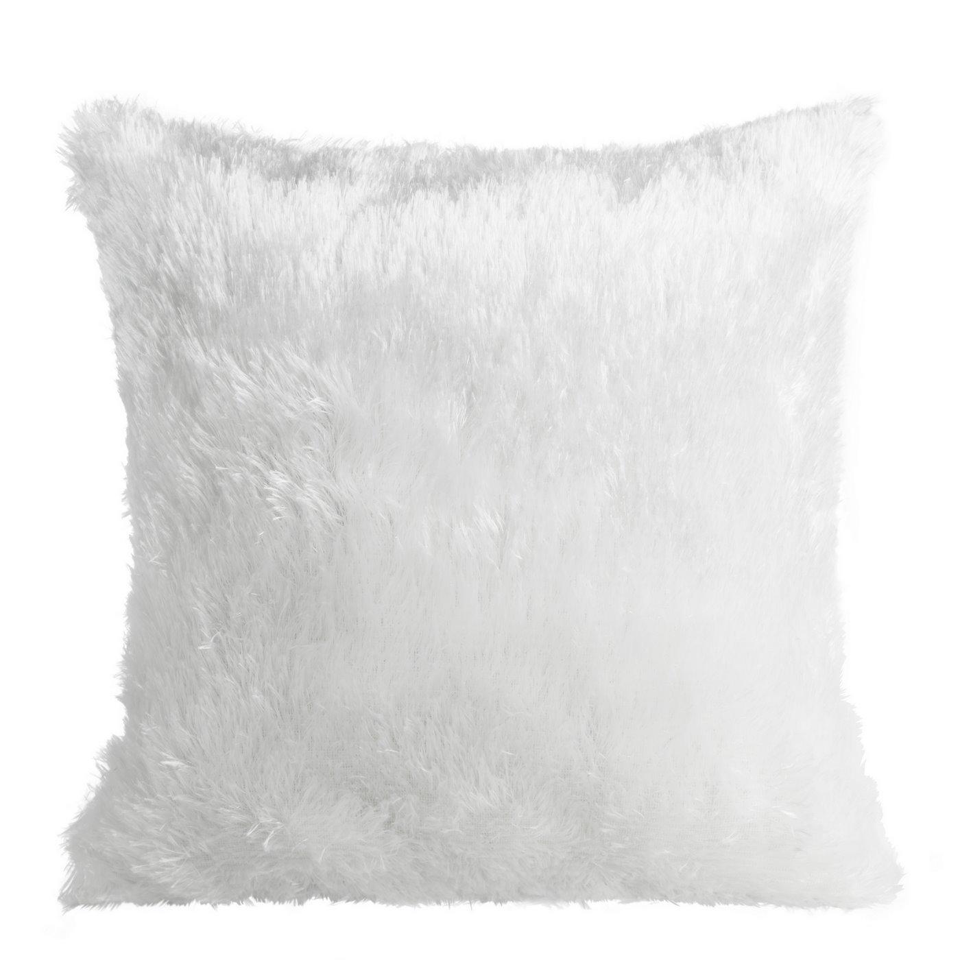 Poszewka na poduszkę 40 x 40 cm biała