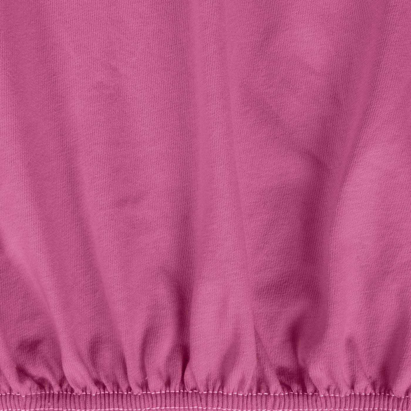 Prześcieradło Bawełniane Gładkie 140X200+25CM kolor Amarant