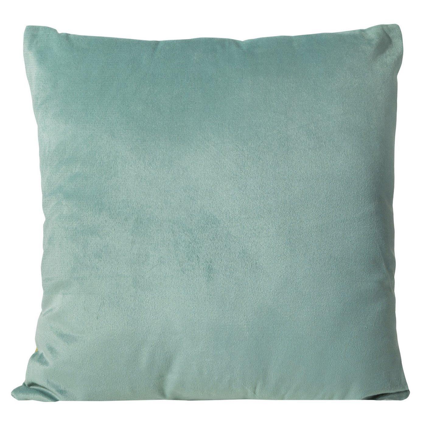 Poszewka na poduszkę gładka morska 40 x 40 cm