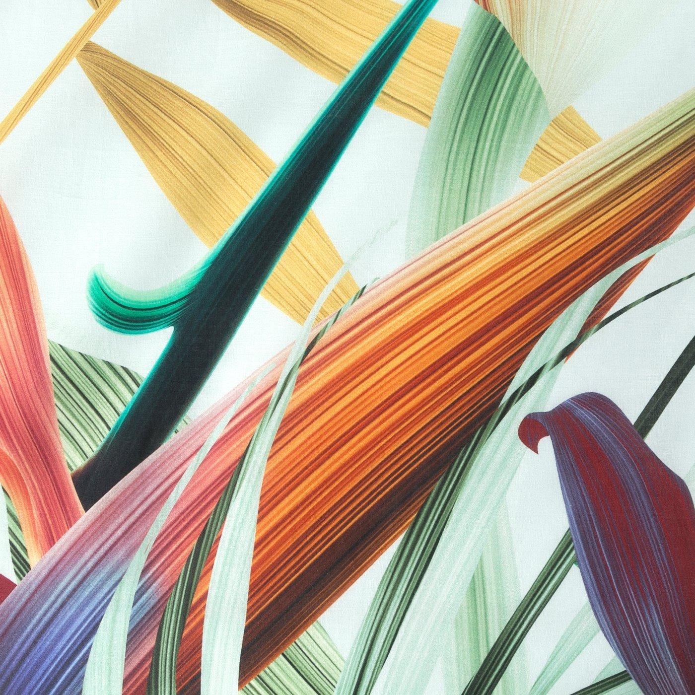 Komplet pościeli  bawełnianej 220 x 200 cm, 2 szt. 70 x 80 egzotyczny nadruk bawełna hiszpańska