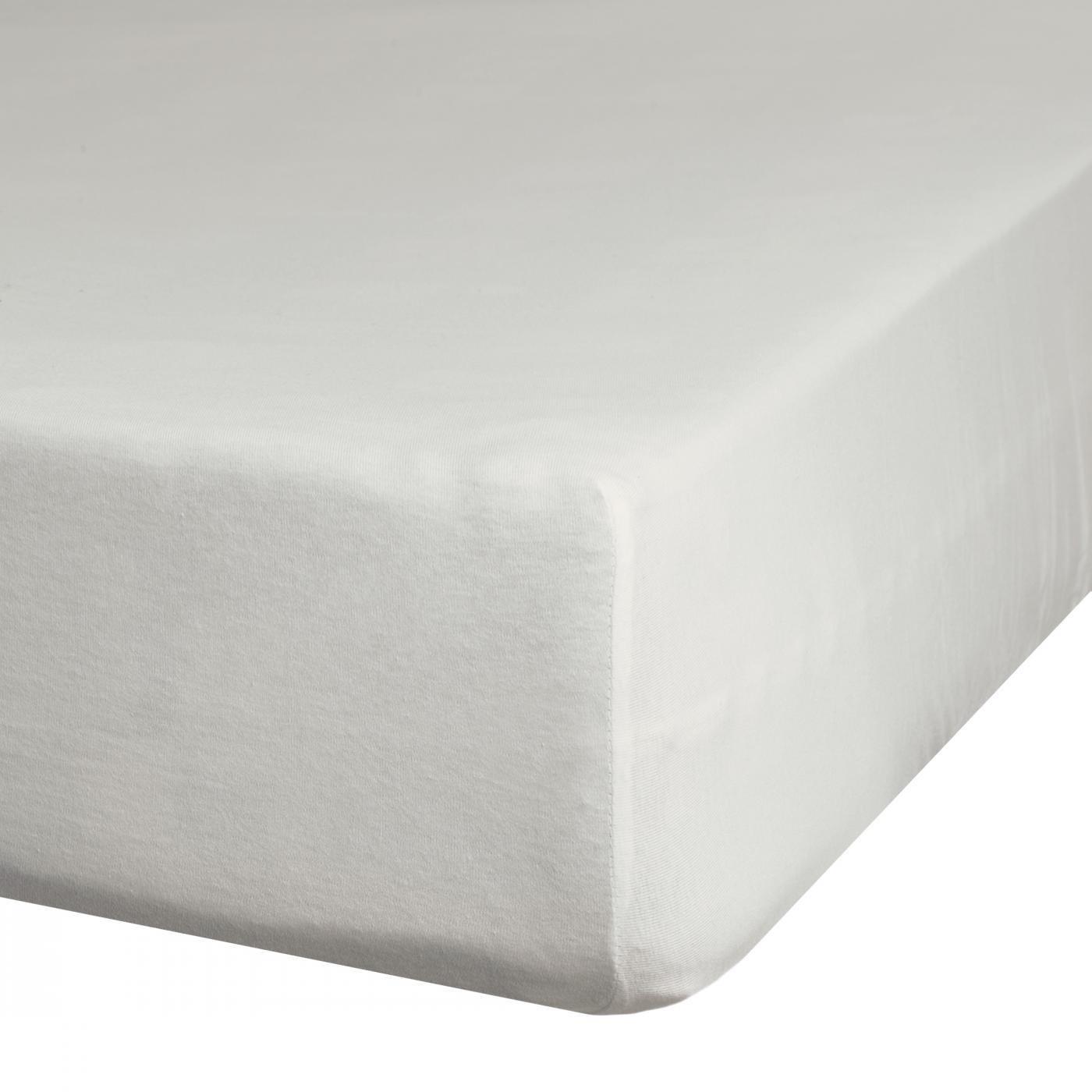 Prześcieradło z makosatyny gładkie 220x210 kolor srebrny