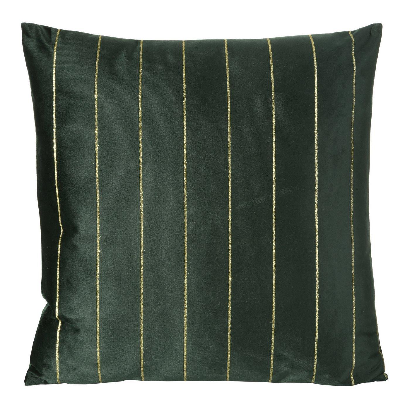 Poszewka dekoracyjna na poduszkę 45 x 45 kolor zielony