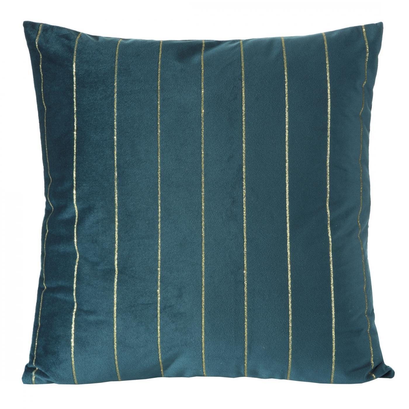 Poszewka dekoracyjna na poduszkę  45 x 45 Kolor C.Turkusowy