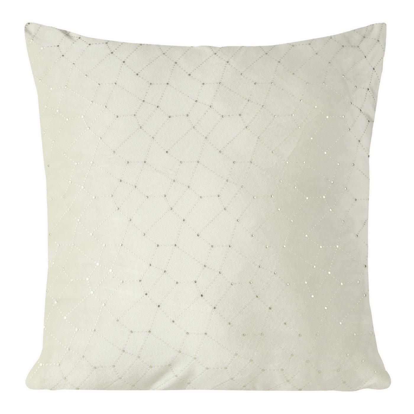 Poszewka dekoracyjna na poduszkę  45 x 45 Kolor Beżowy