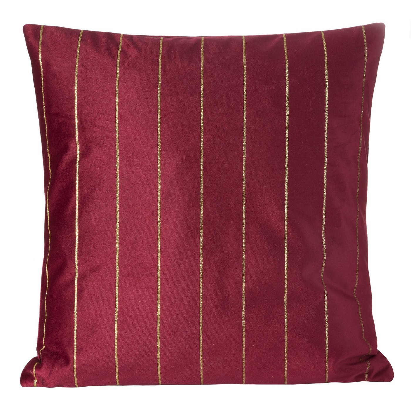 Poszewka dekoracyjna na poduszkę  45 x 45 Kolor Bordowy