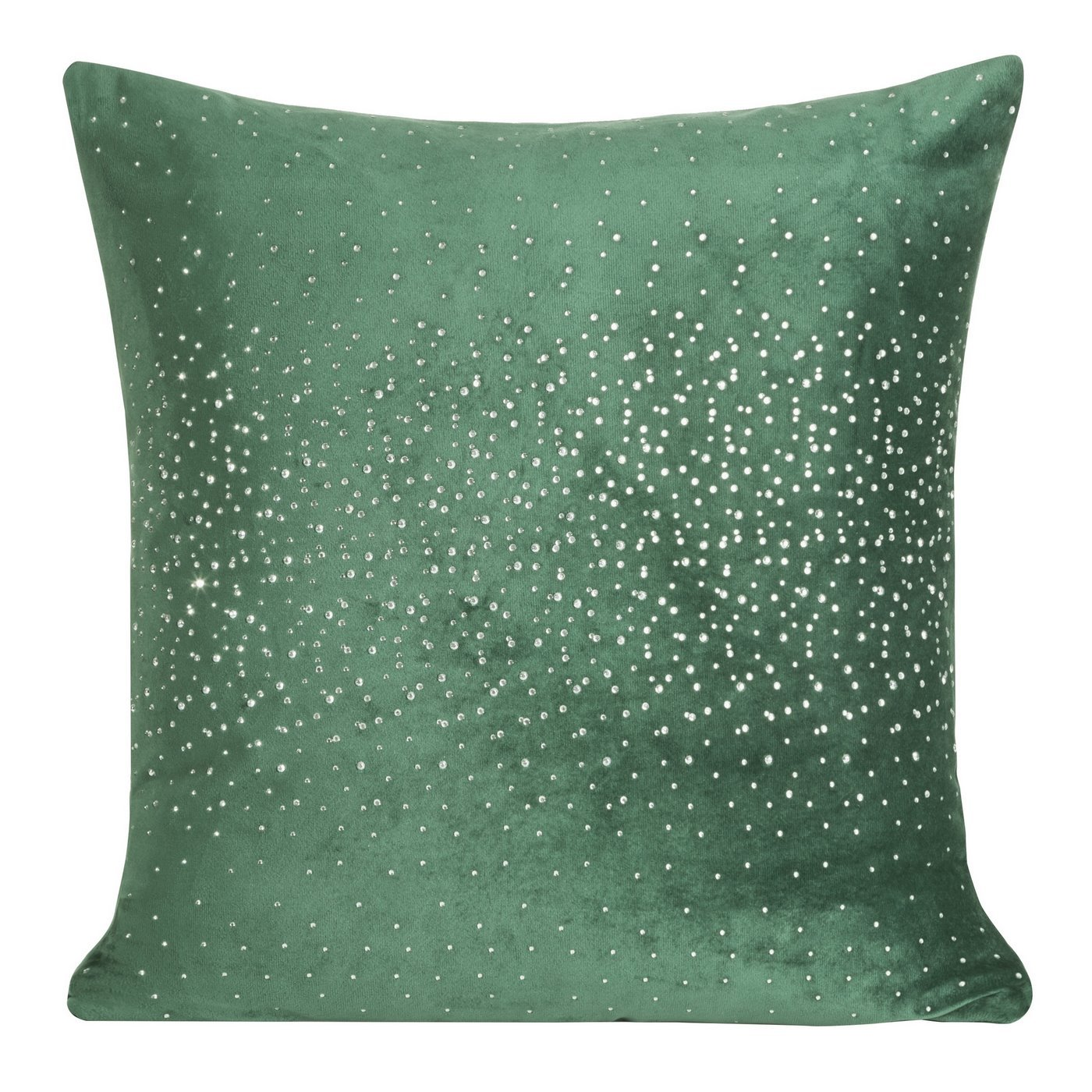 Poszewka dekoracyjna na poduszkę 45 x 45 kolor c.zielony