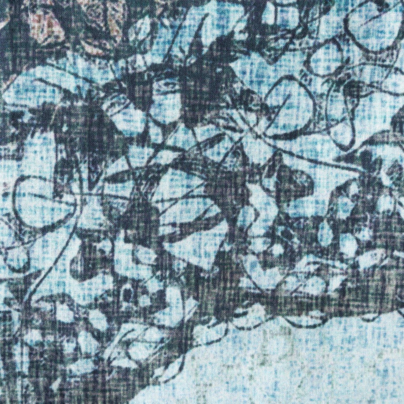 Komplet pościeli bawełnianej 220 x 200, 2 szt. 70 x 80 nadruk przecierany mandala hiszpańska bawełna