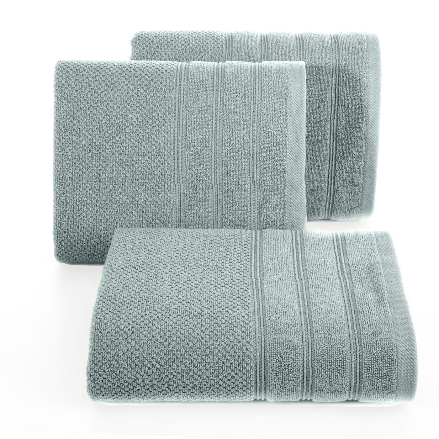 Bawełniany ręcznik kąpielowy frote miętowy 50x90