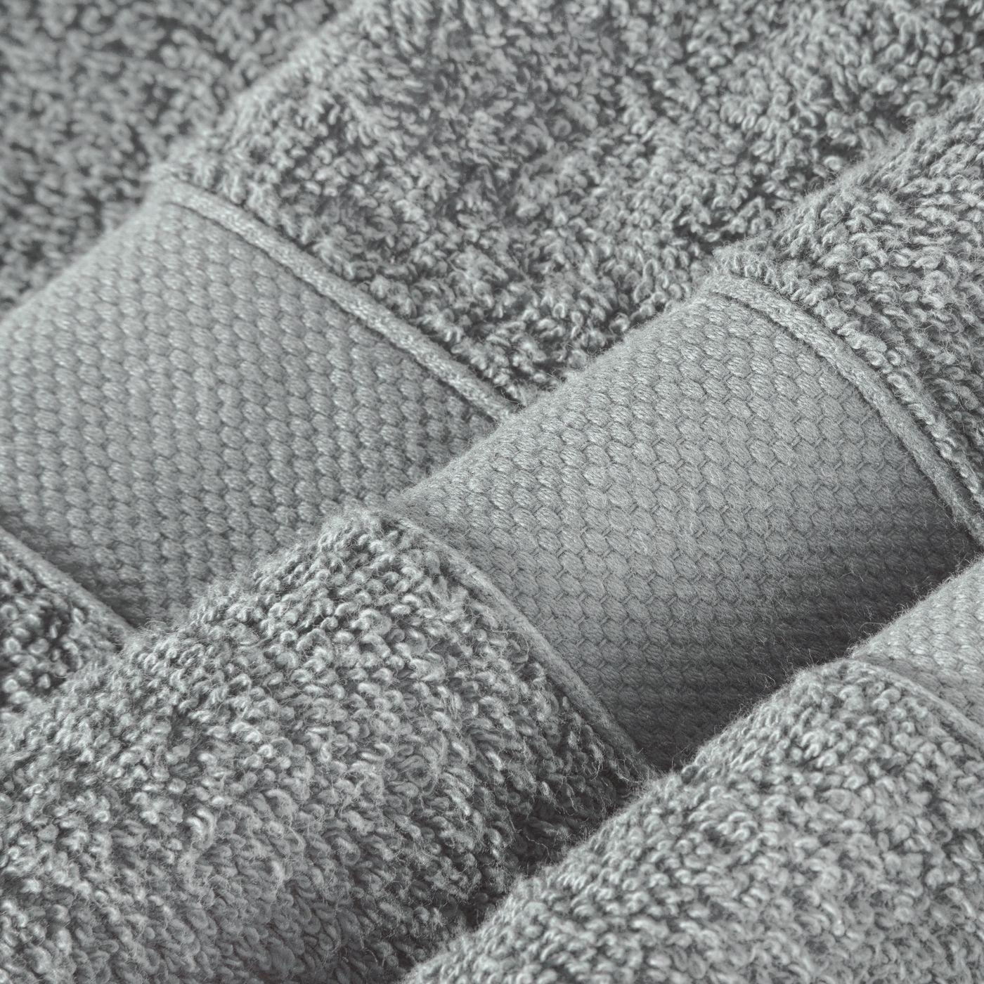 Miękki chłonny ręcznik kąpielowy stalowy 70x140