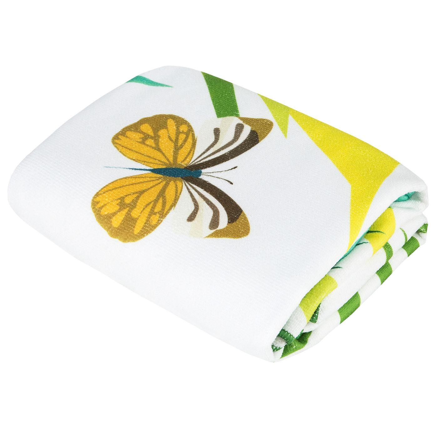 Ręcznik plażowy z mikrofibry z kolorowym nadrukiem 80x160cm